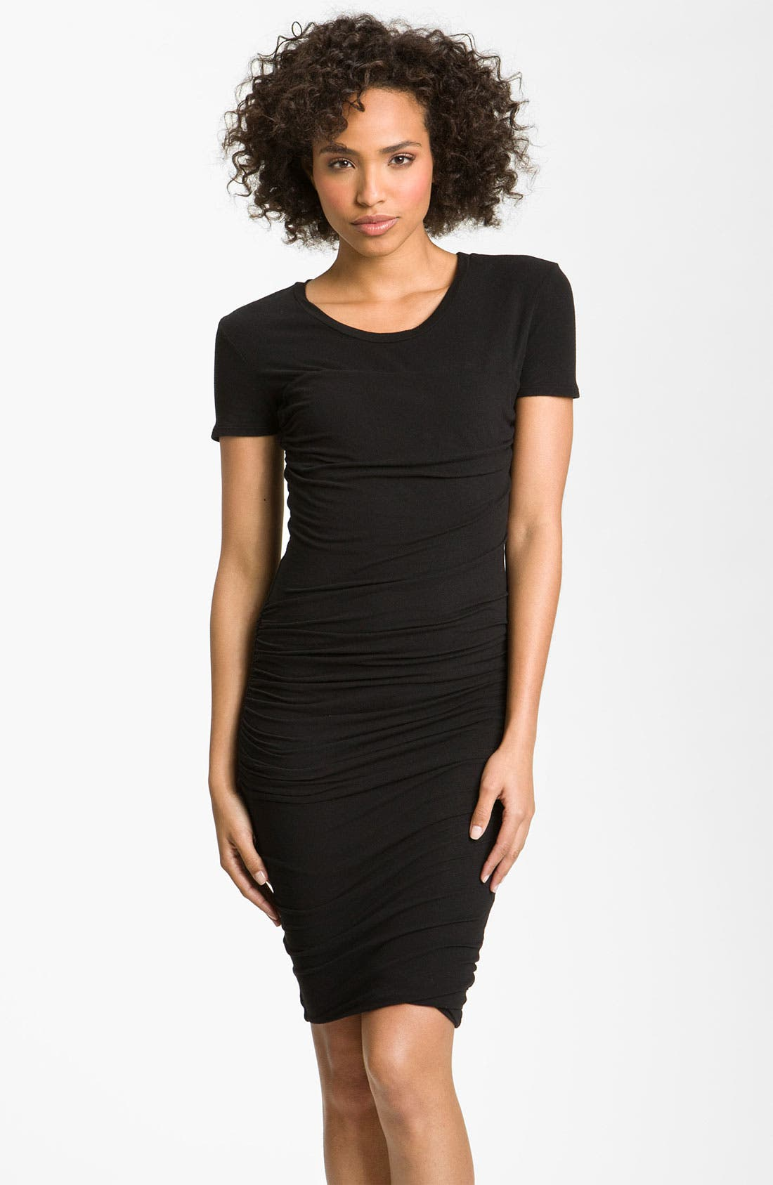 Main Image - James Perse Ruched T-Shirt Dress