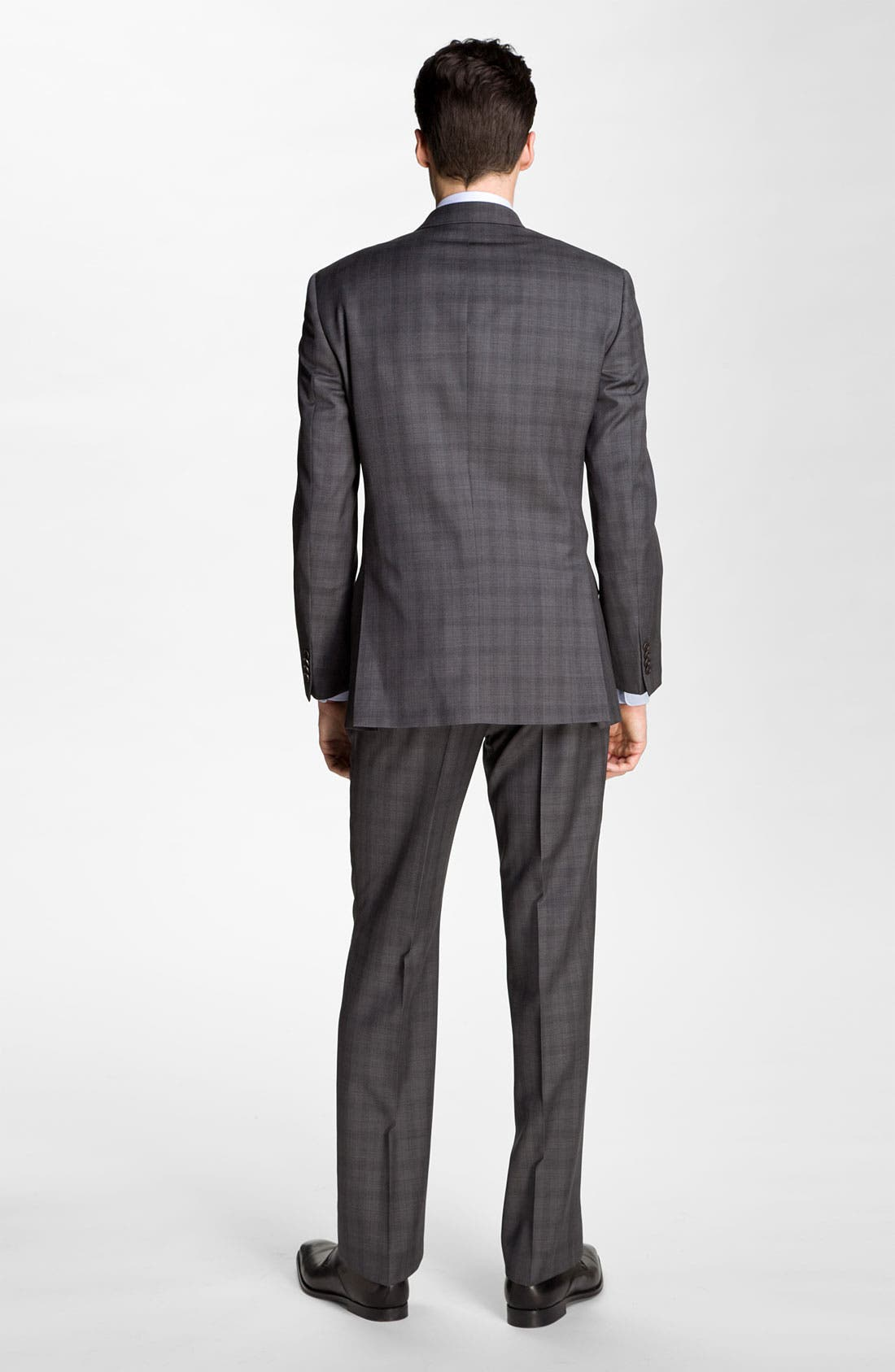 Alternate Image 3  - John Varvatos Star USA 'Chester' Plaid Three Piece Suit