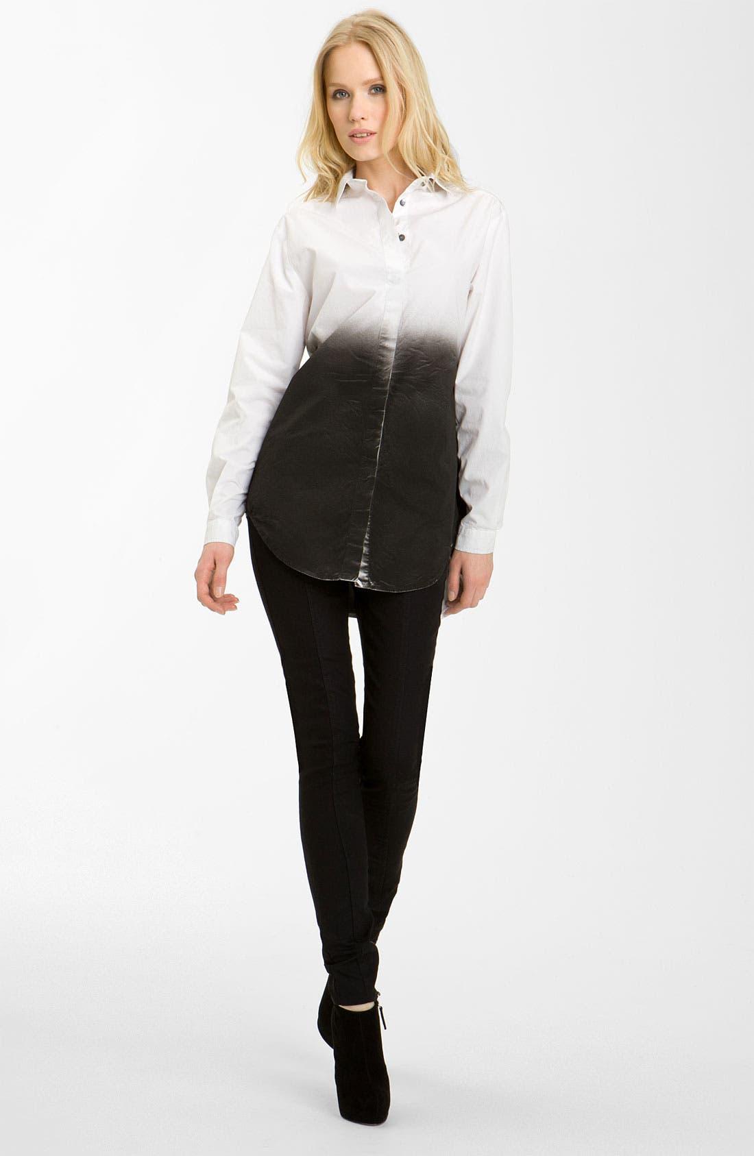Alternate Image 1 Selected - Pierre Balmain Ombré Shirtdress
