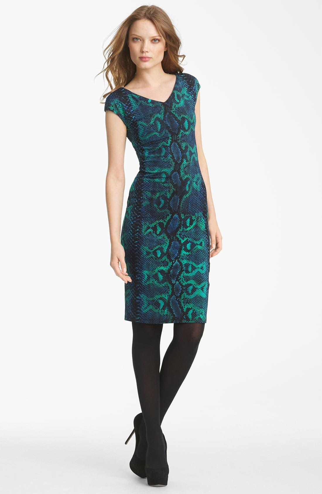 Main Image - Roberto Cavalli Python Print Jersey Dress