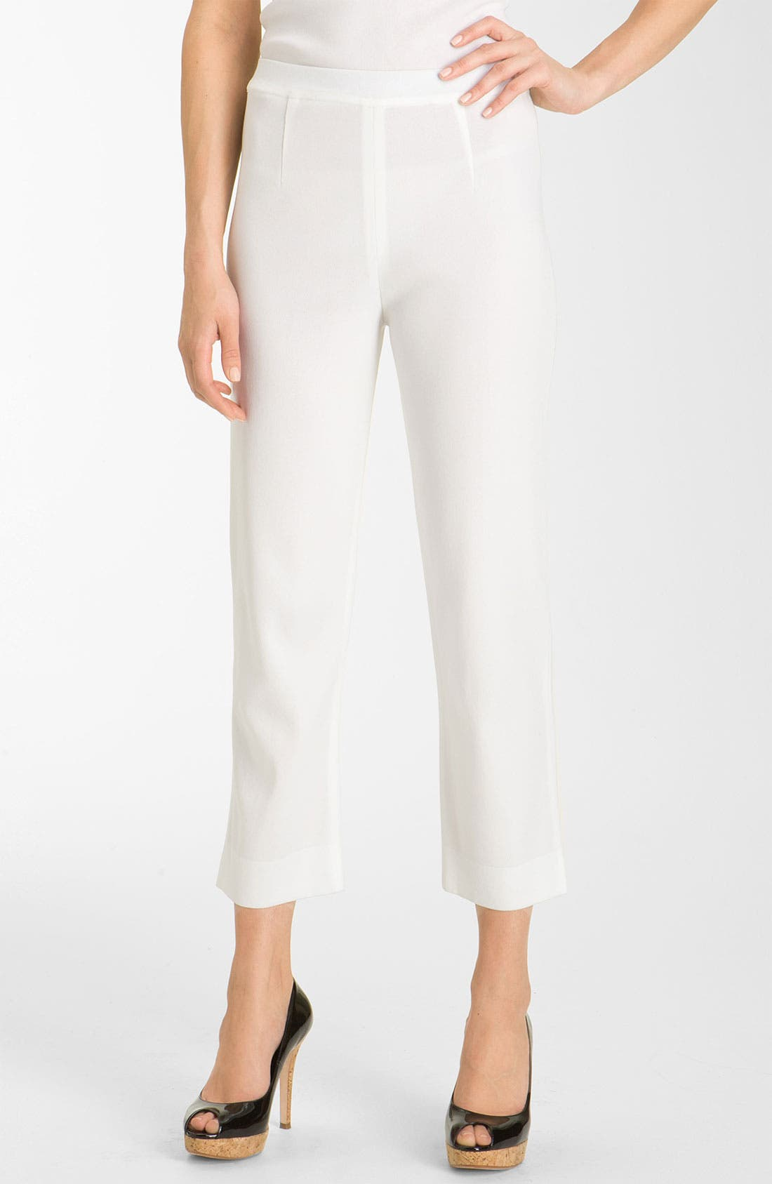Alternate Image 1 Selected - Misook Capri Pants