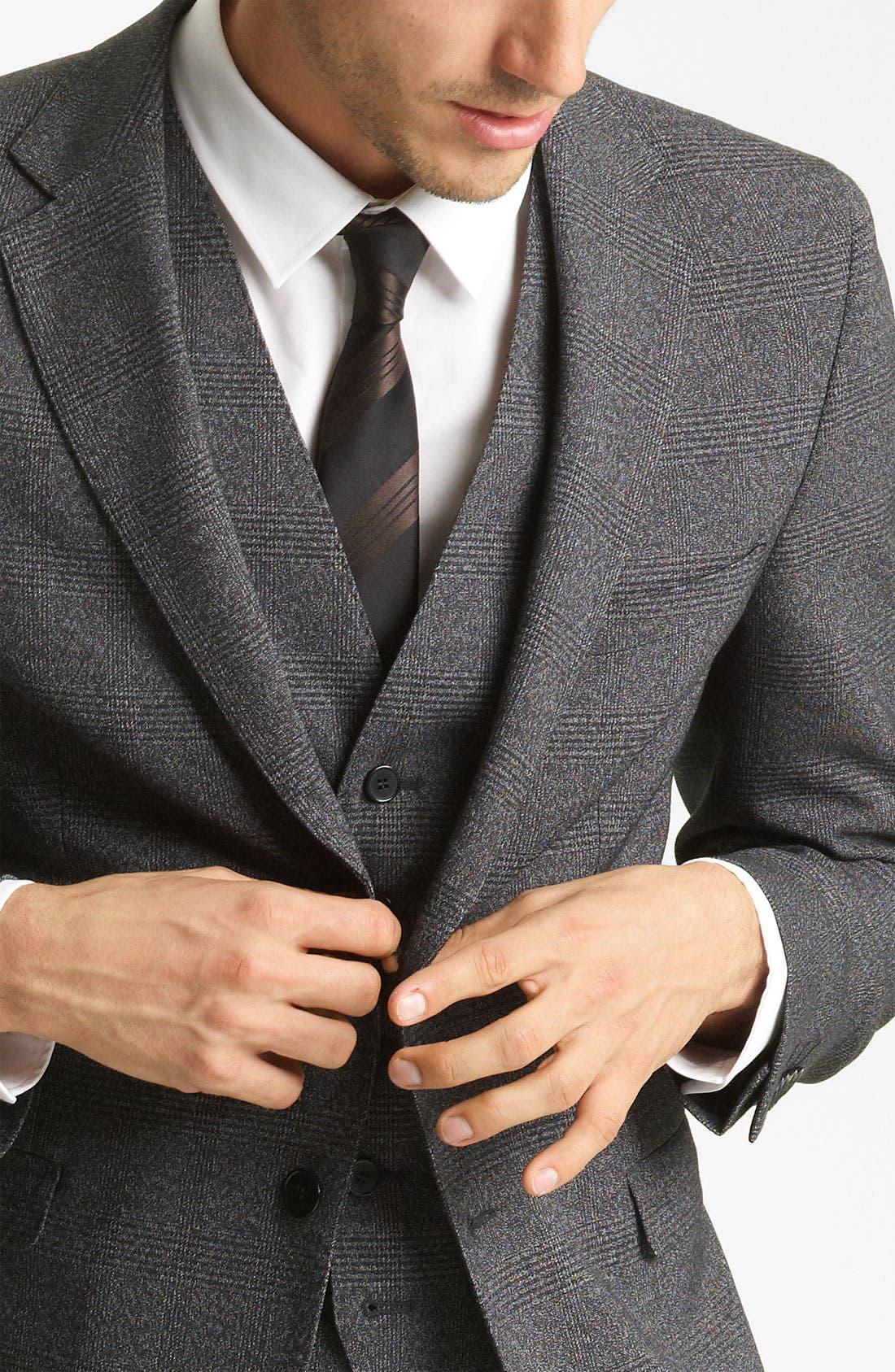 Alternate Image 4  - Dolce&Gabbana Three Piece Suit