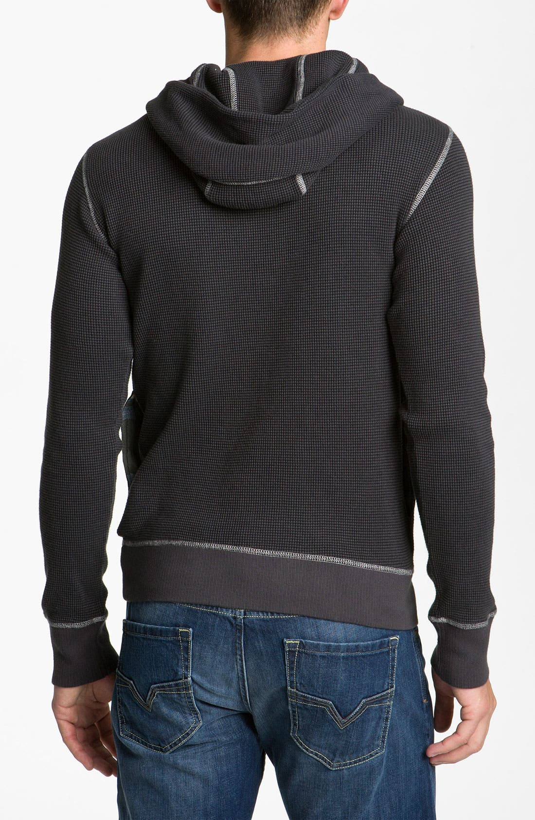 Alternate Image 2  - DIESEL® 'Sybill' Fleece Pullover Sweatshirt