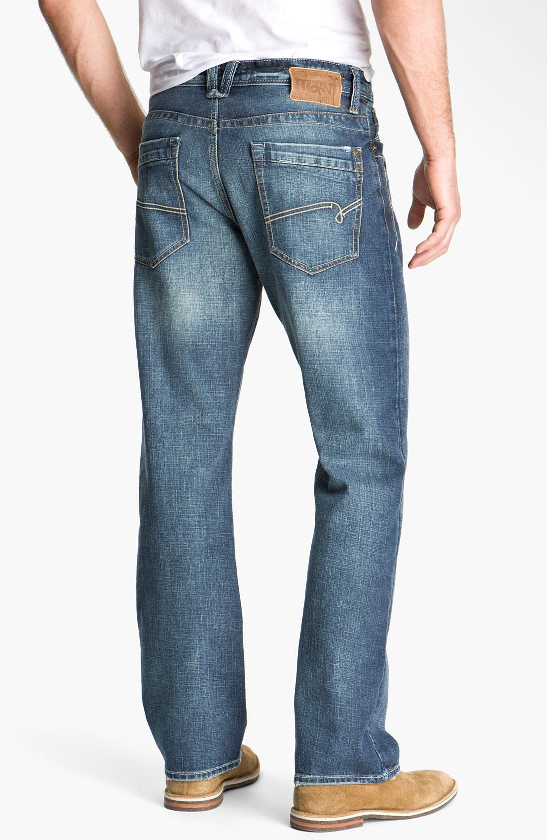 Alternate Image 2  - Mavi Jeans 'Matt' Relaxed Fit Jeans (New York Cashmere)