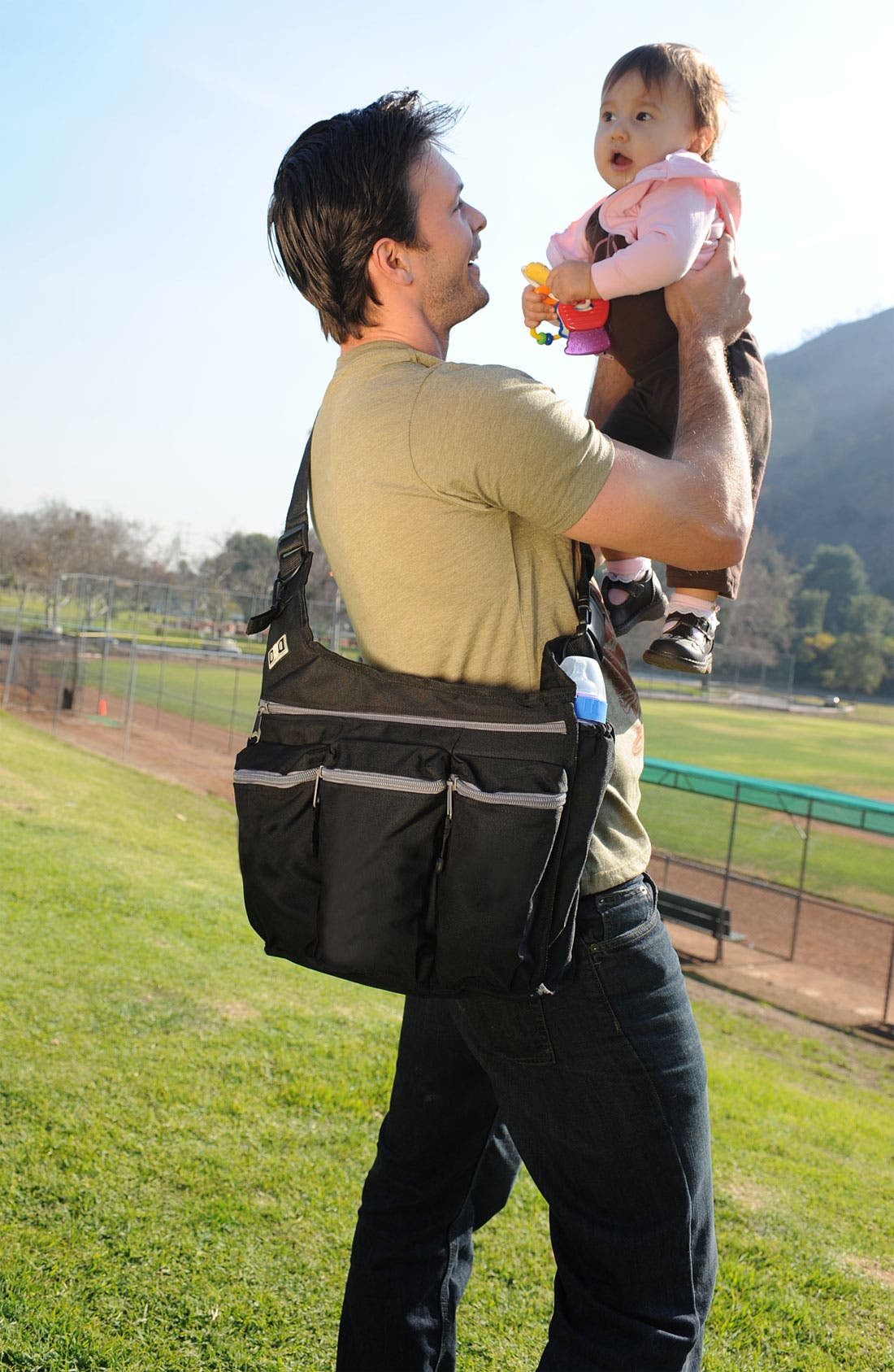 Alternate Image 2  - Diaper Dude Shoulder Messenger Bag
