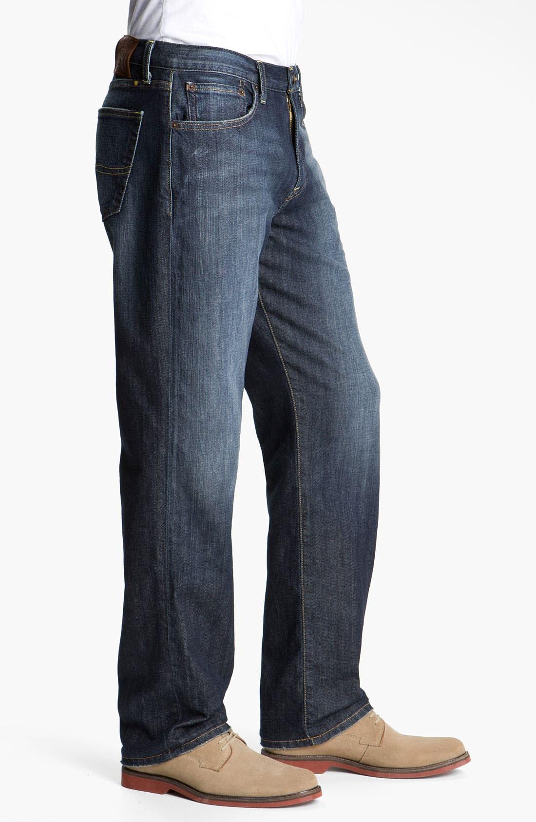 Alternate Image 2  - Lucky Brand '329' Classic Straight Leg Jeans (Ol' Lipservice)
