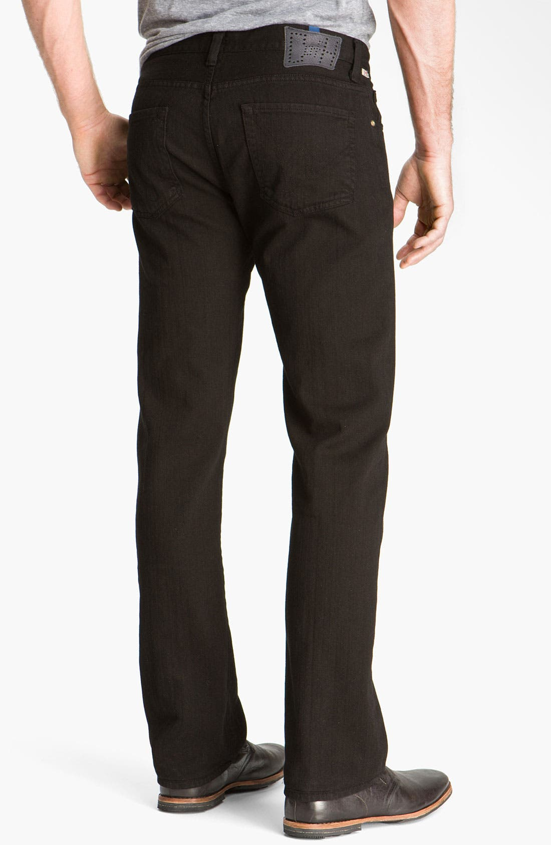 Alternate Image 1  - Citizens of Humanity 'Sid' Straight Leg Jeans (Black)