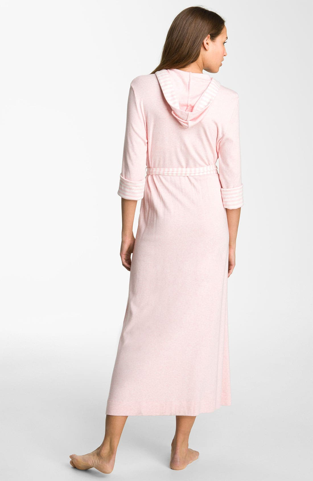 Alternate Image 2  - Carole Hochman Designs 'Gardenside' Hooded Robe