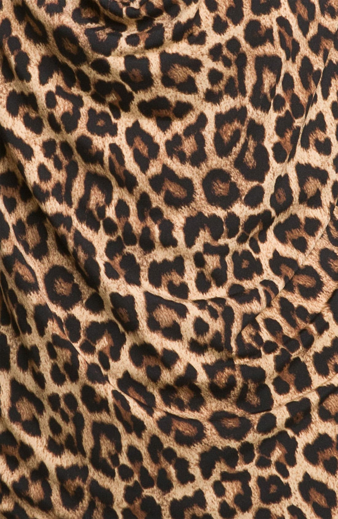 Alternate Image 3  - MICHAEL Michael Kors Jaguar Print Cowl Neck Top (Petite)