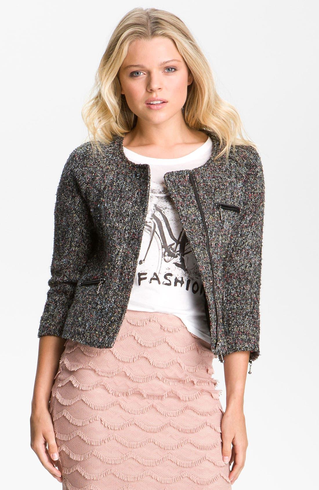 Main Image - Sanctuary Tweed Jacket