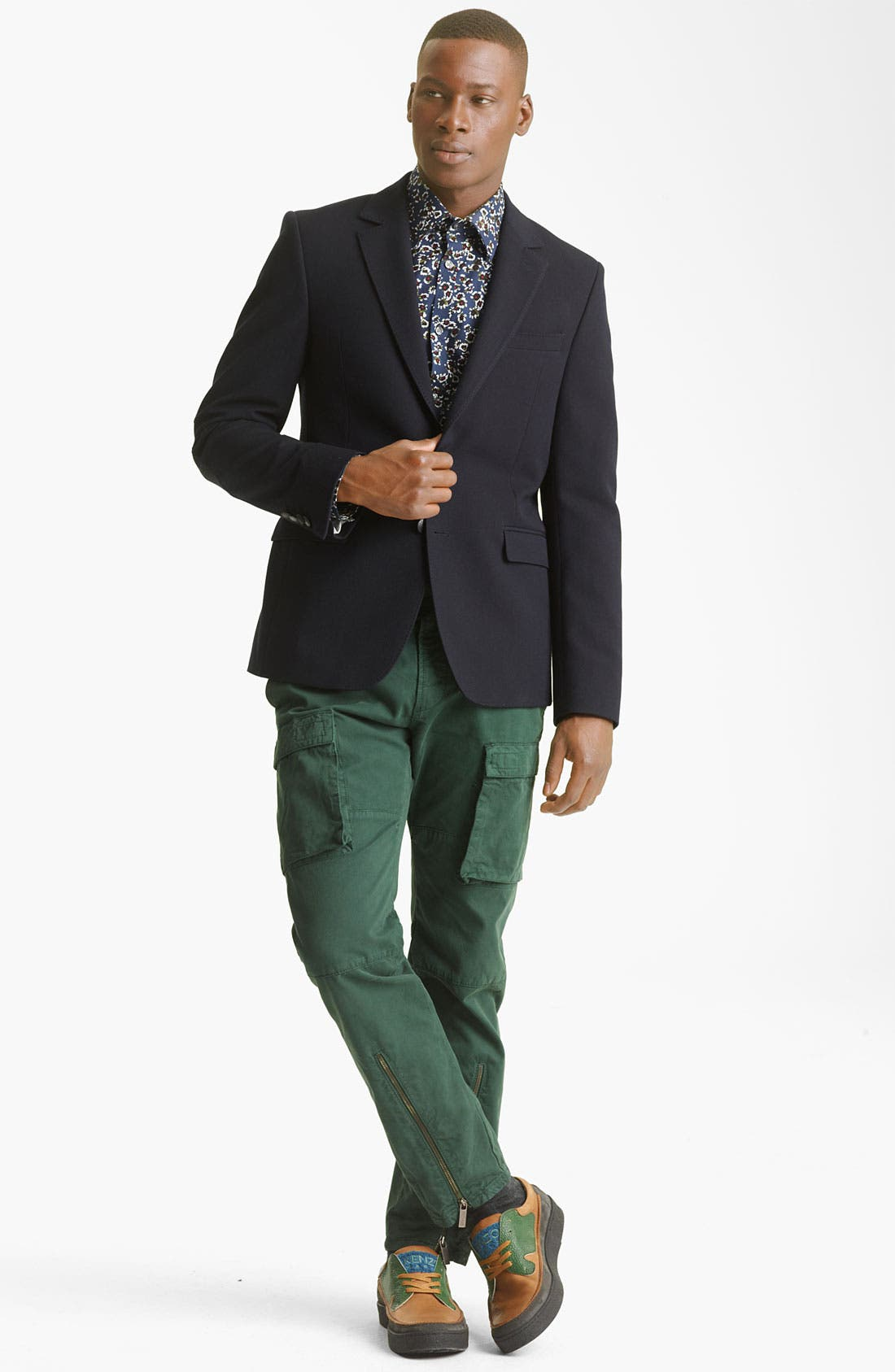 Alternate Image 4  - KENZO Wool Blend Blazer
