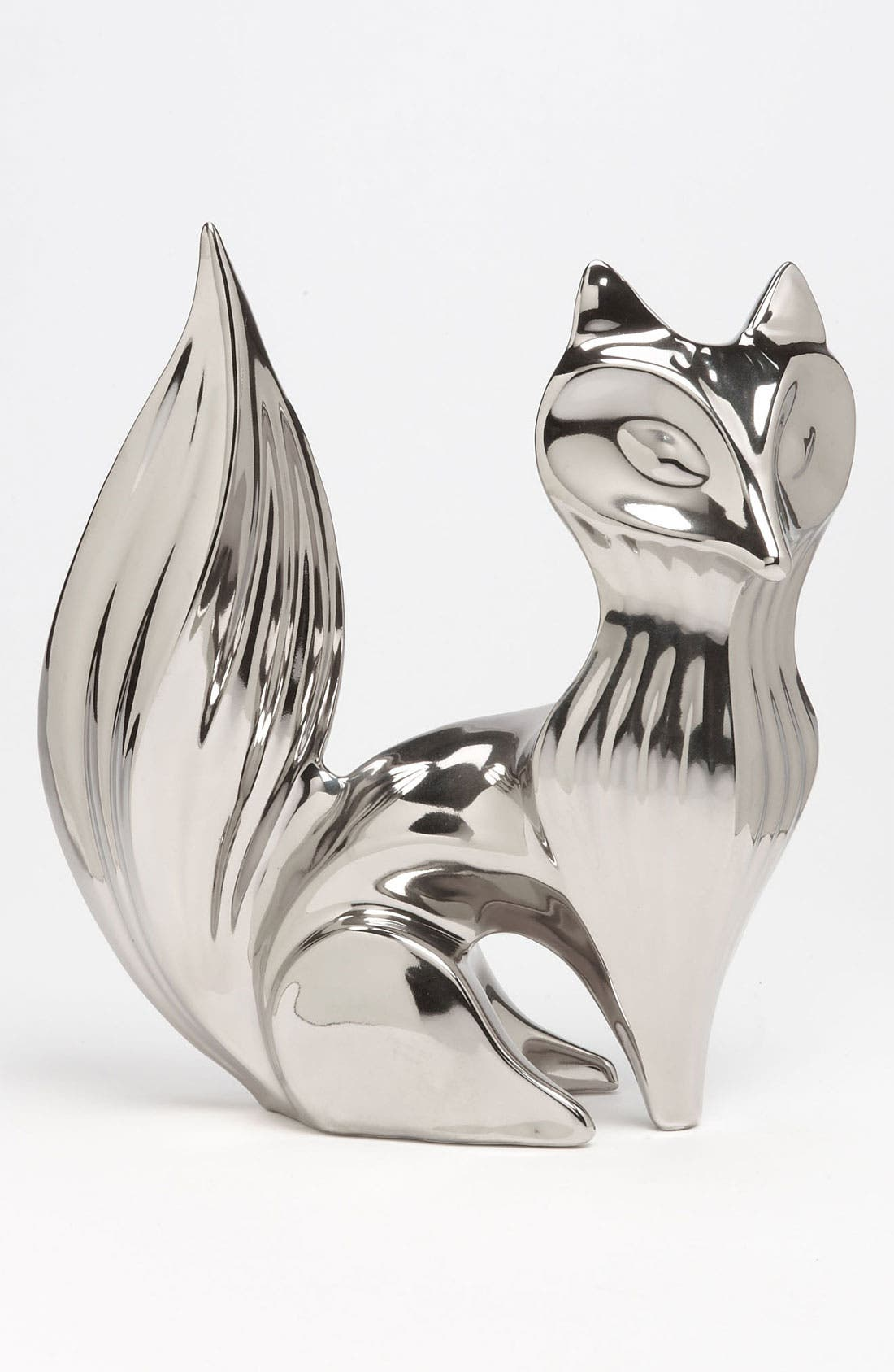 Alternate Image 1 Selected - Jonathan Adler Silver Fox Figurine