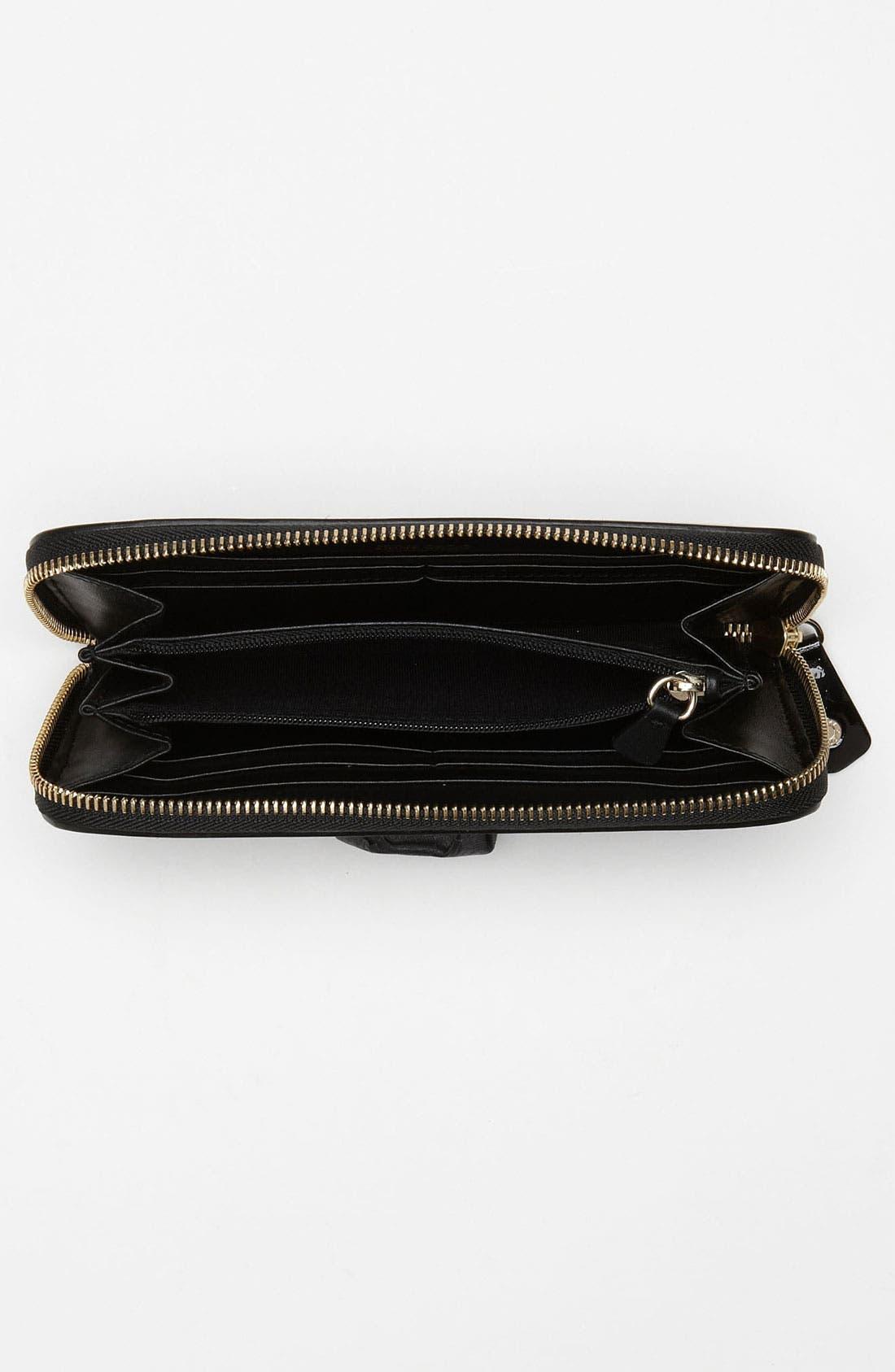 Alternate Image 3  - Jimmy Choo 'Rush' Patent Leather Wallet