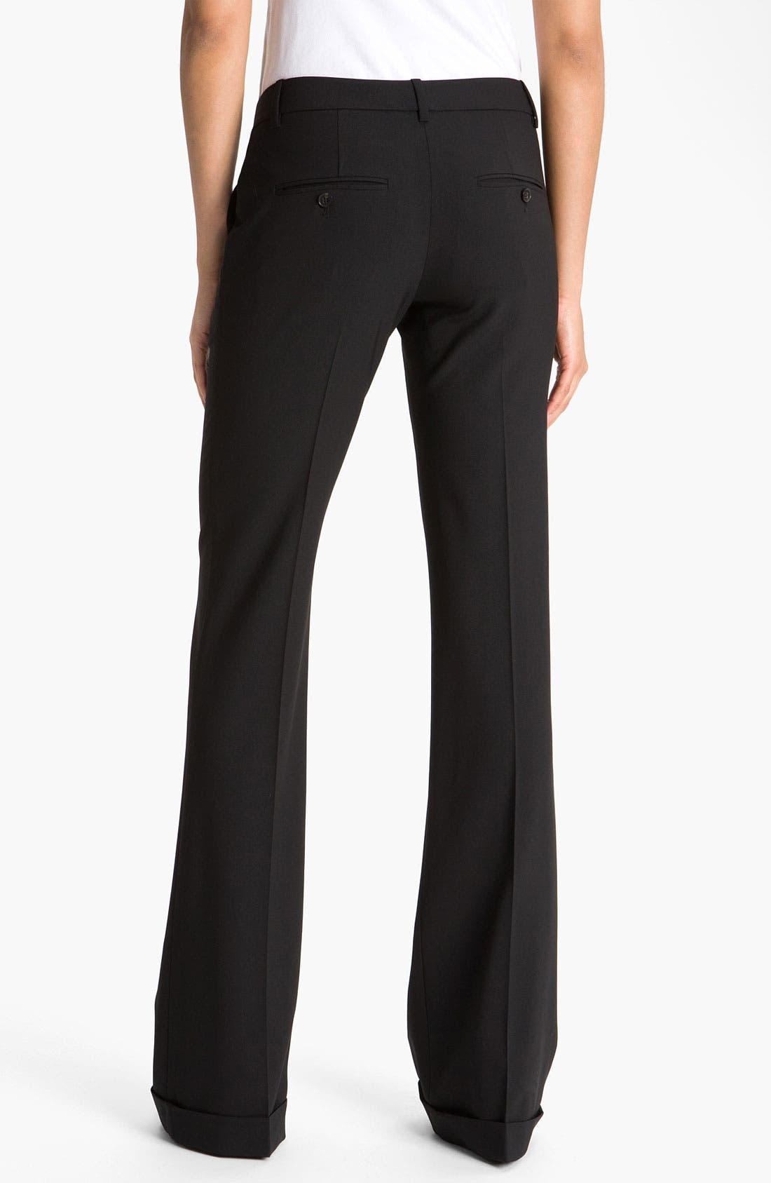 Alternate Image 2  - Theory 'Lauren - Tailor' Cuff Pants
