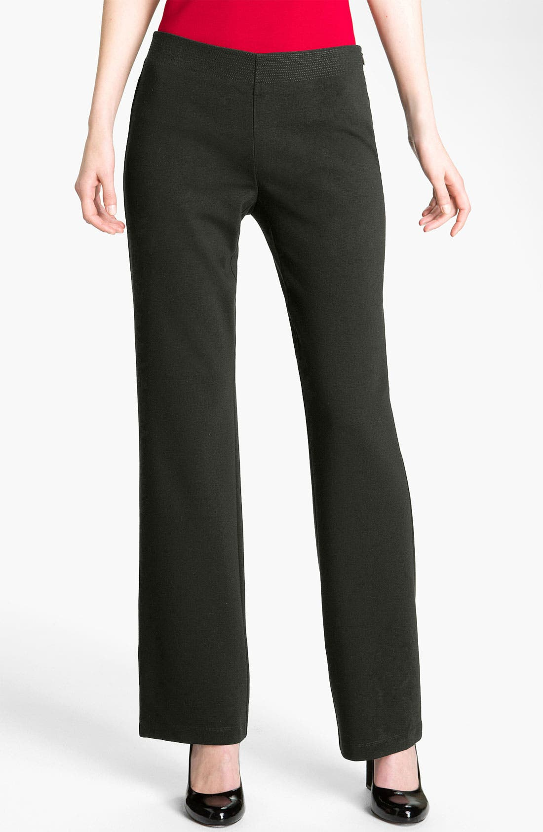 Main Image - Eileen Fisher 'Milano' Straight Leg Knit Pants