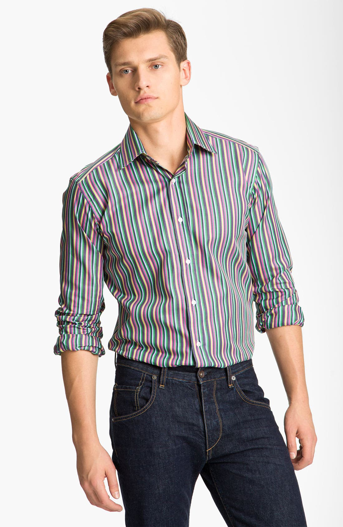 Alternate Image 1 Selected - Etro Stripe Shirt