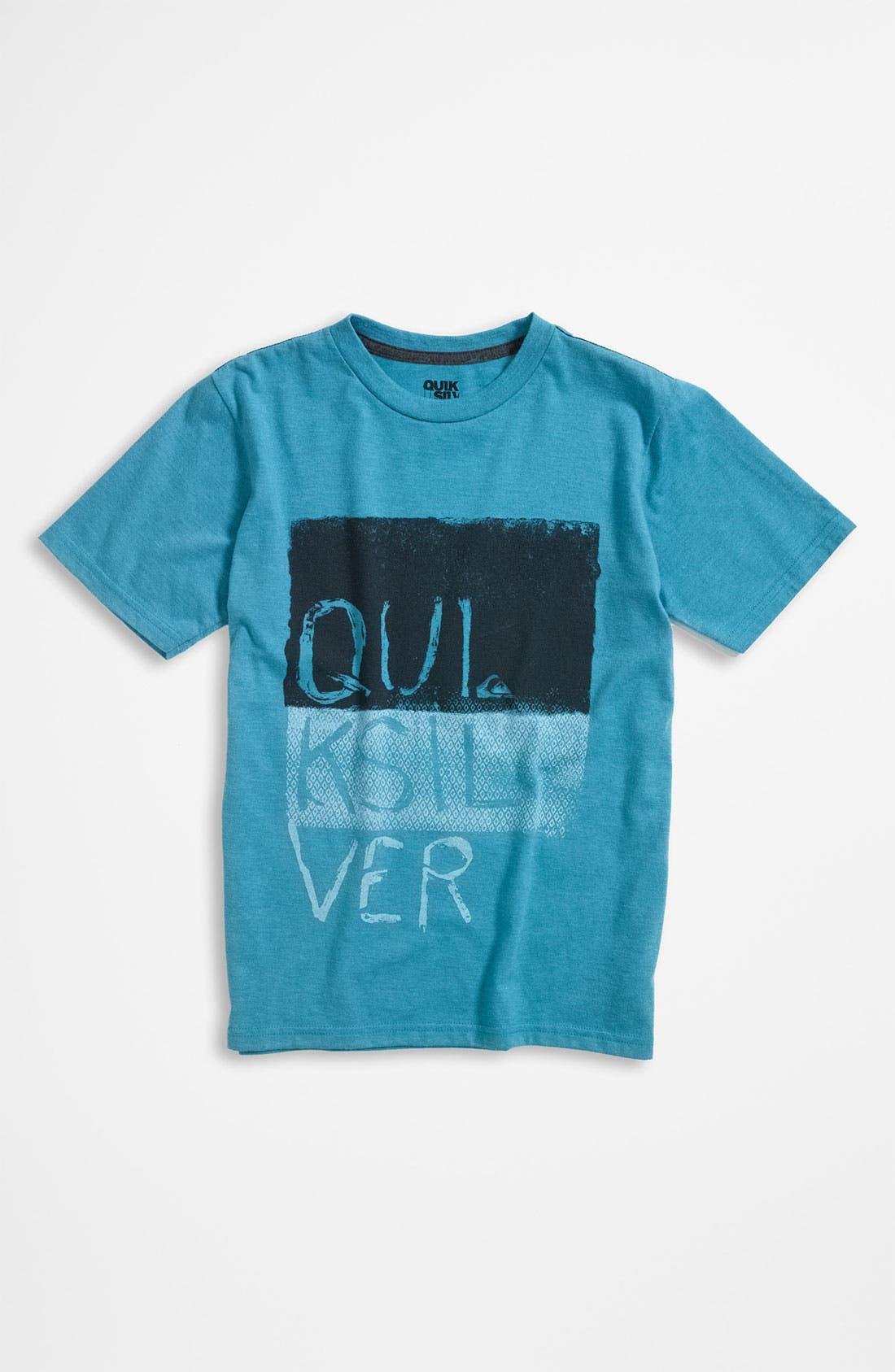 Main Image - Quiksilver Ring Spun Jersey T-Shirt (Big Boys)