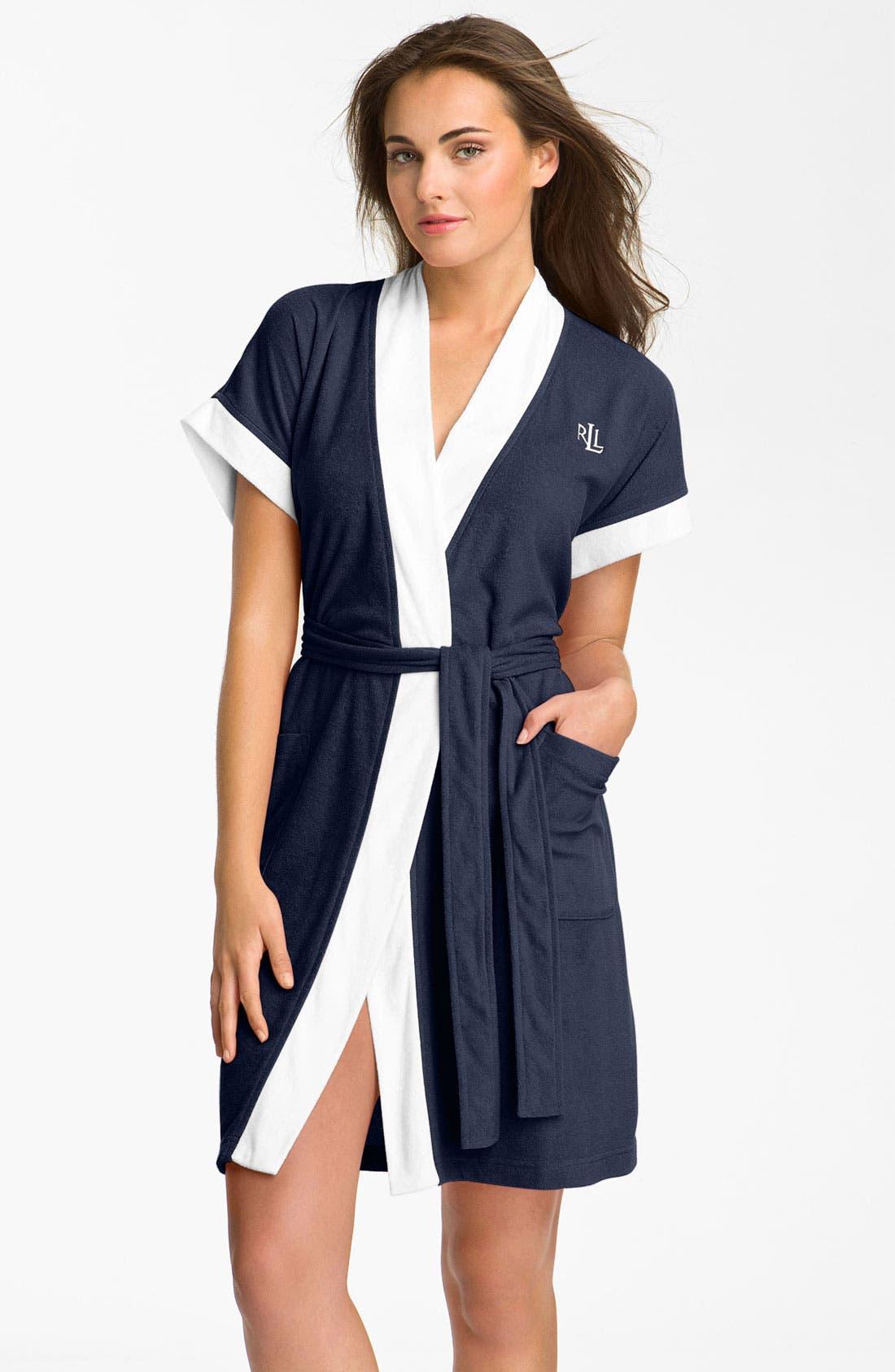 Alternate Image 1 Selected - Lauren Ralph Lauren Sleepwear Terry Spa Robe
