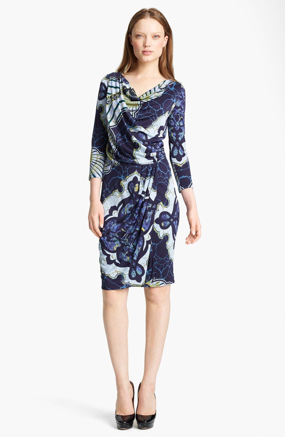 Main Image - Emilio Pucci Drape Front Jersey Dress
