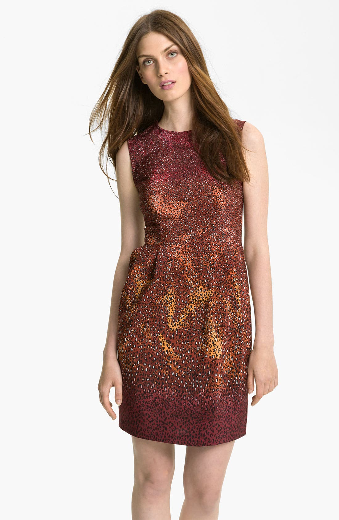 Alternate Image 1 Selected - Nanette Lepore 'Firefly' Print Silk Dress
