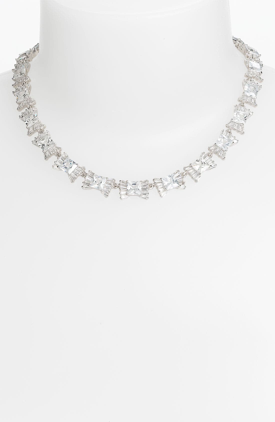 Alternate Image 1 Selected - kate spade new york 'le soir' bow collar necklace