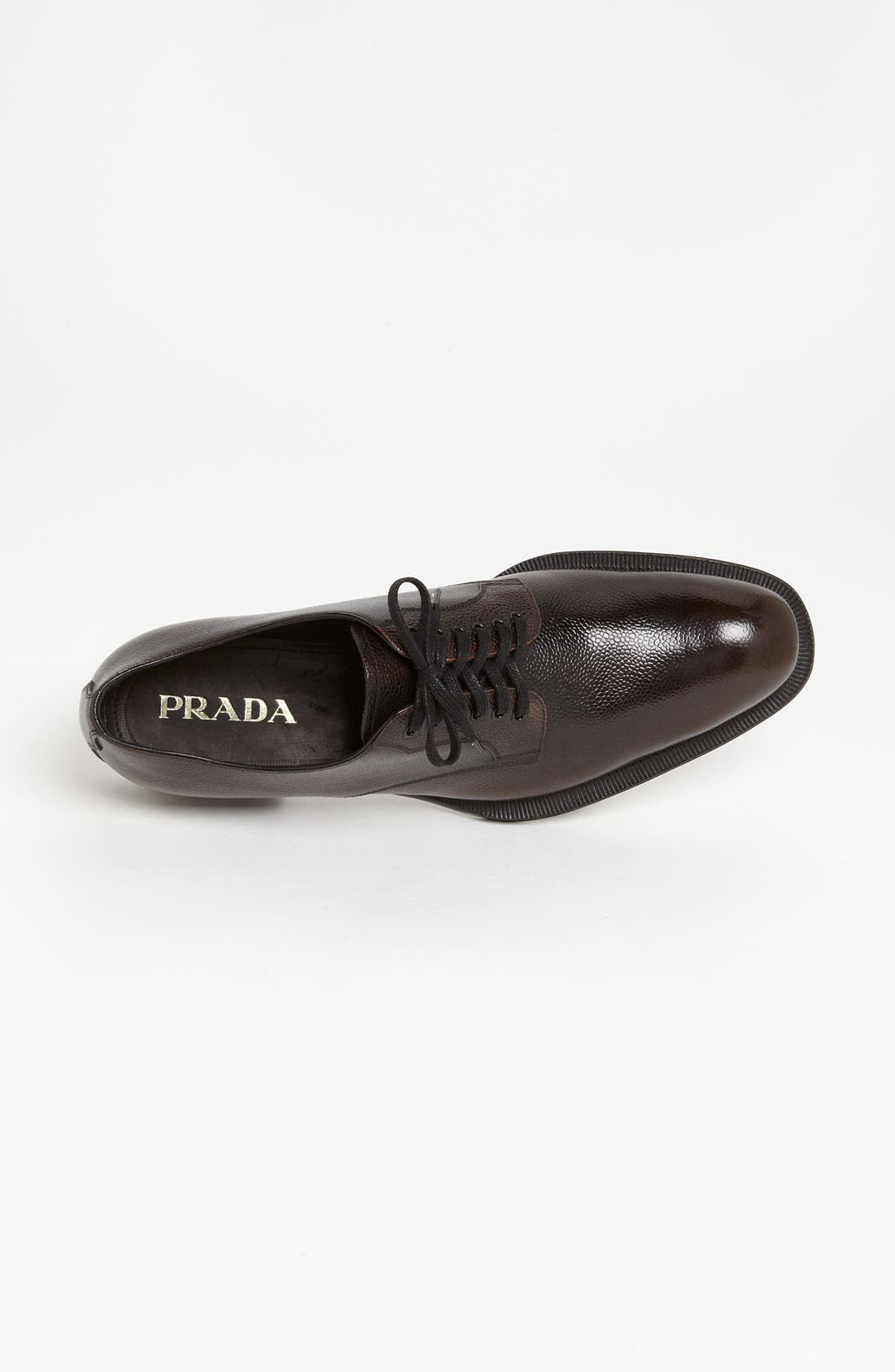 Alternate Image 3  - Prada Pebbled Derby