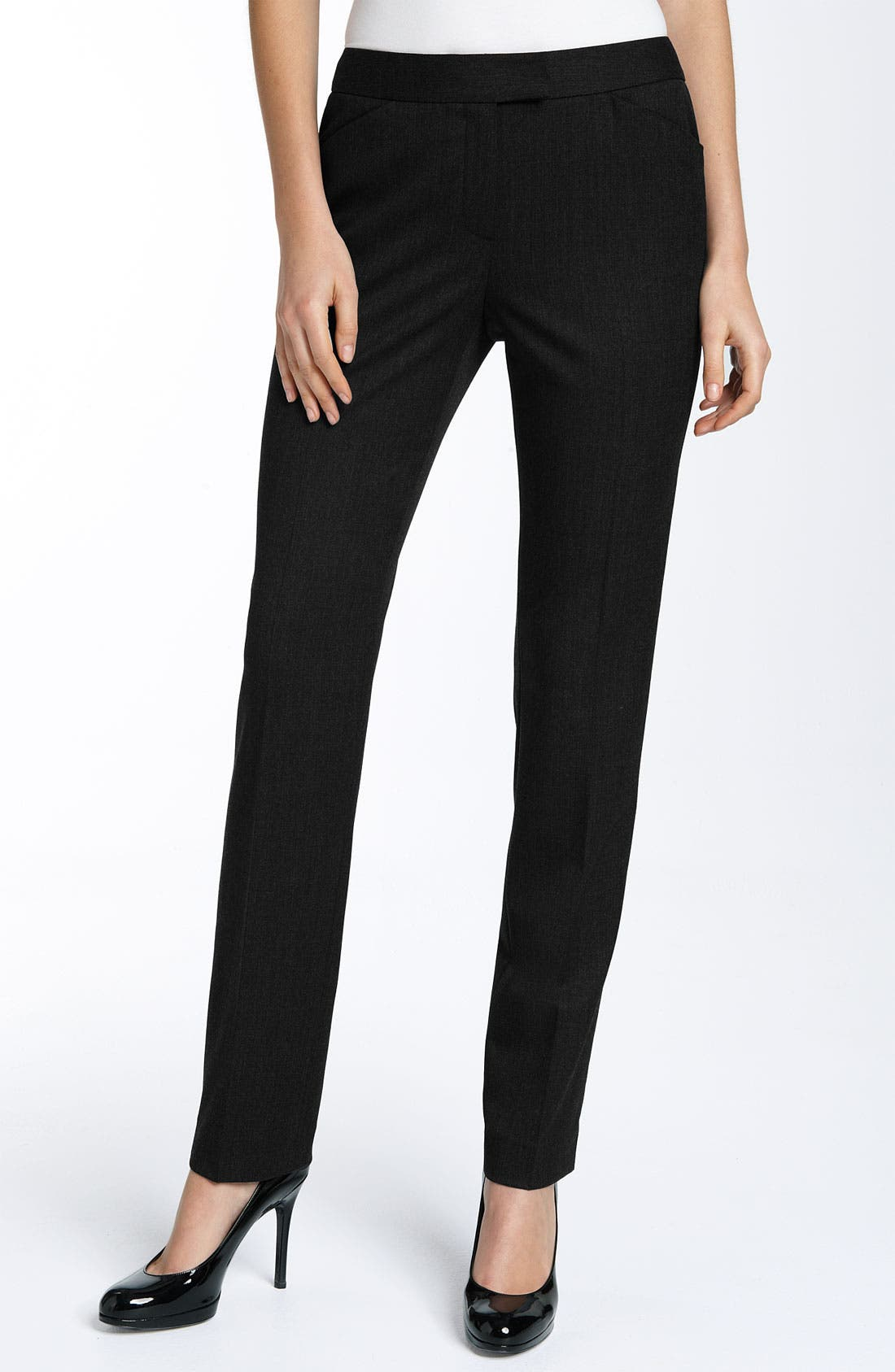 Alternate Image 1 Selected - Lafayette 148 New York 'Irving' Pants (Petite)