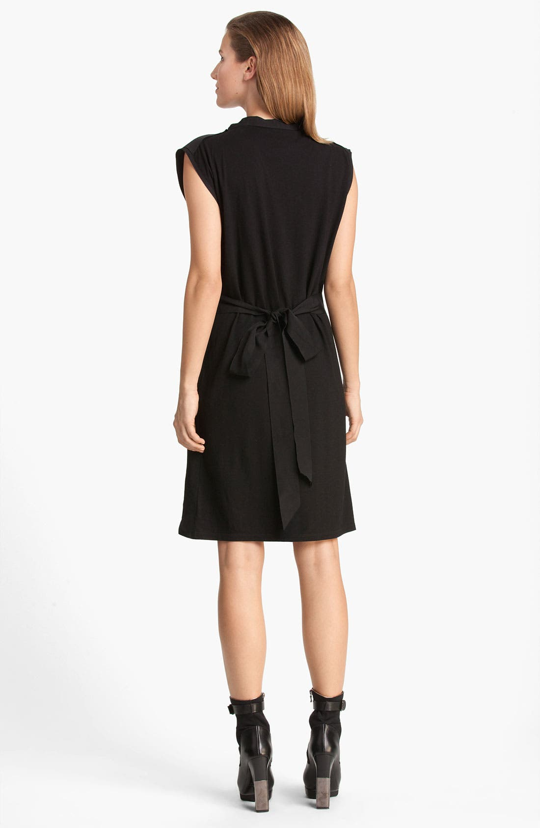 Alternate Image 2  - Lanvin Belted Sleeveless Jersey Dress