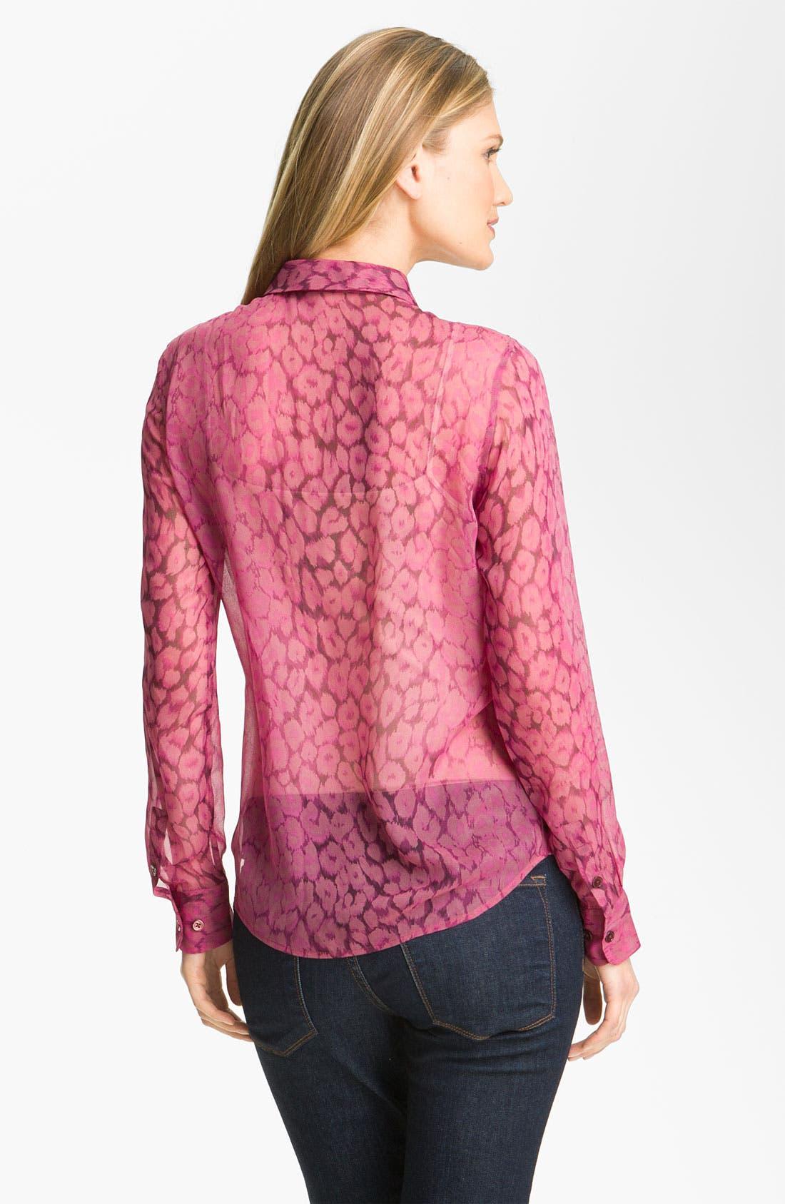 Alternate Image 2  - Equipment 'Sophie' Print Silk Blouse