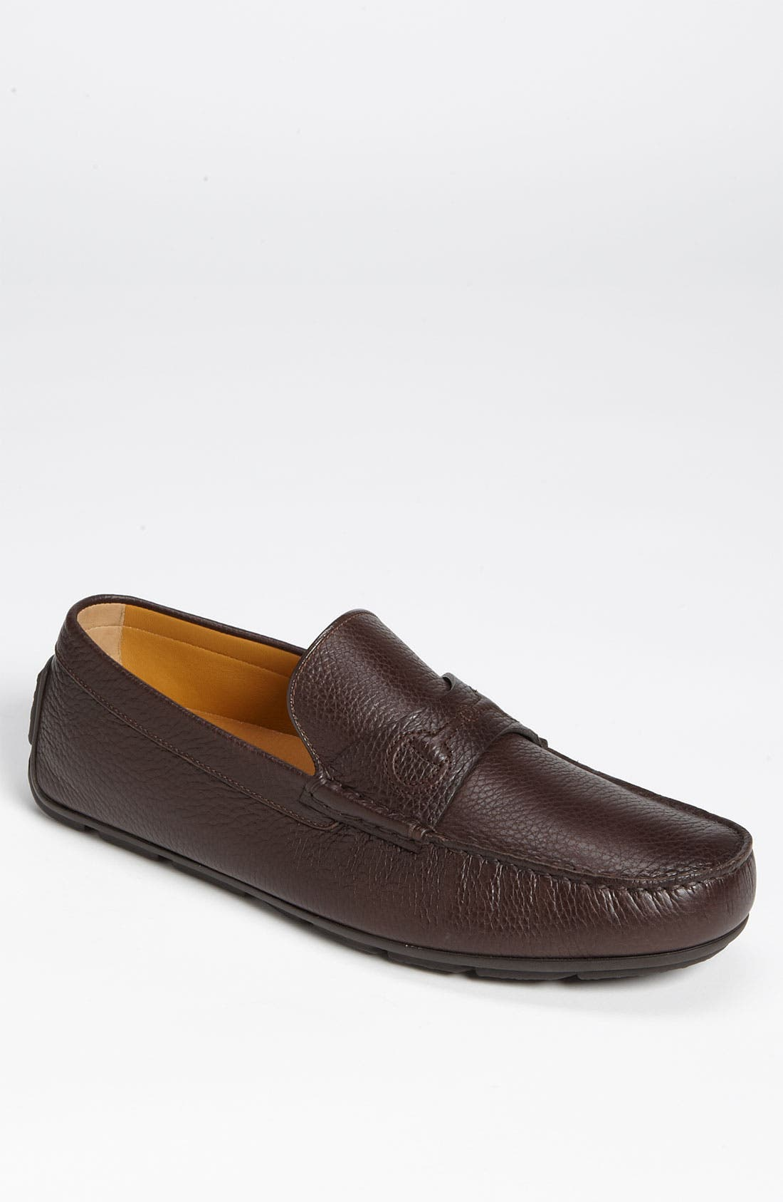 Alternate Image 1 Selected - Gucci 'Chabas' Pebbled Driving Shoe