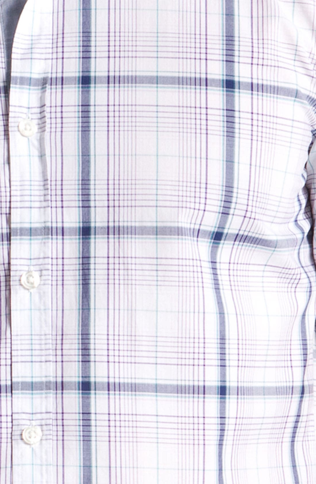 Alternate Image 3  - BOSS Black 'Marc 2' Slim Fit Sport Shirt