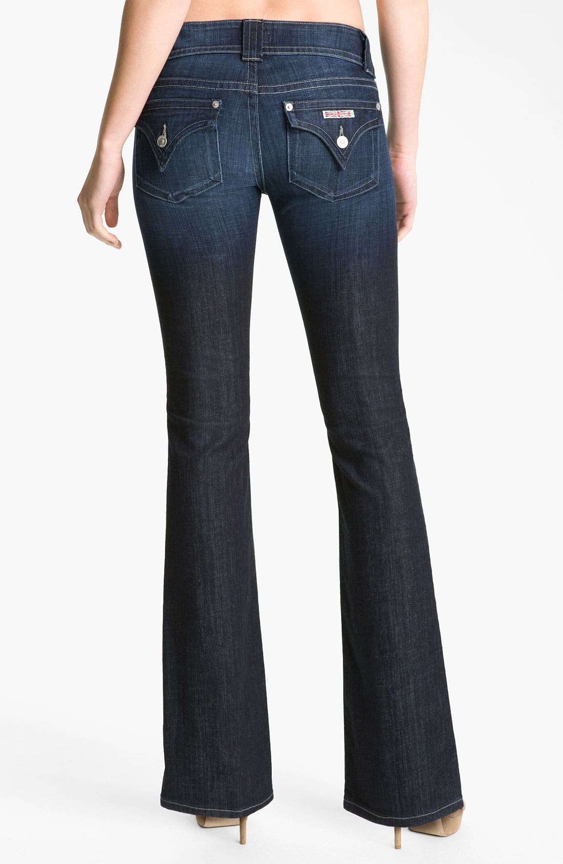 Alternate Image 2  - Hudson Jeans Signature Flap Pocket Bootcut Jeans (Bowery)
