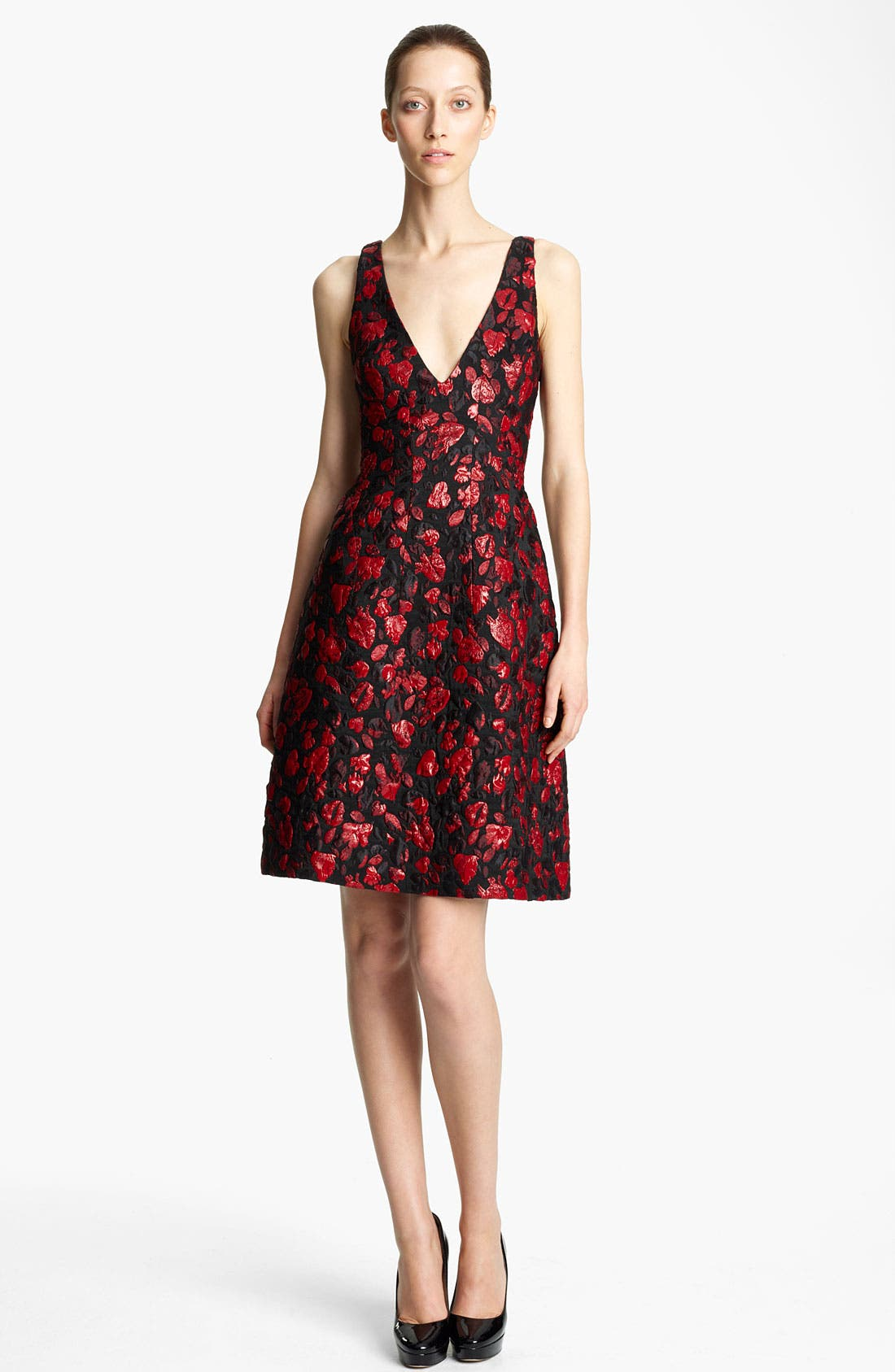 Alternate Image 1 Selected - Thakoon Lip & Heart Print Jacquard Dress