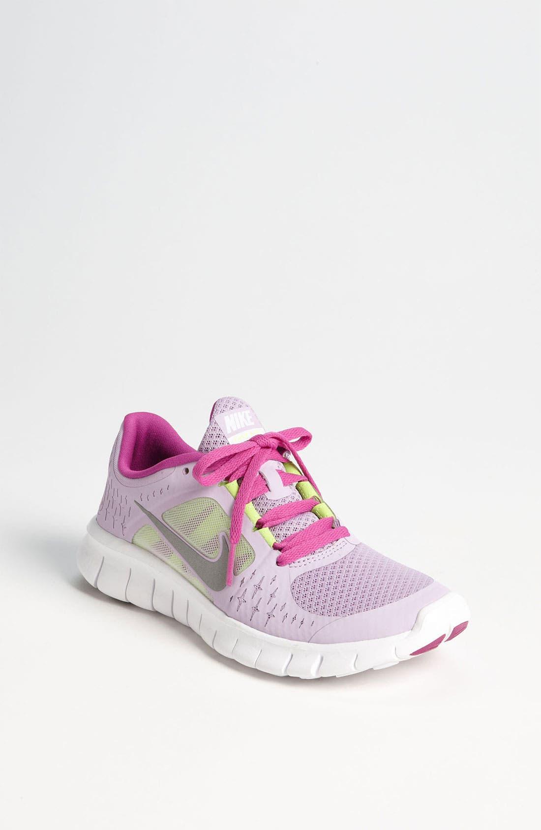 Alternate Image 1 Selected - Nike 'Free Run 3.0' Running Shoe (Big Kid)