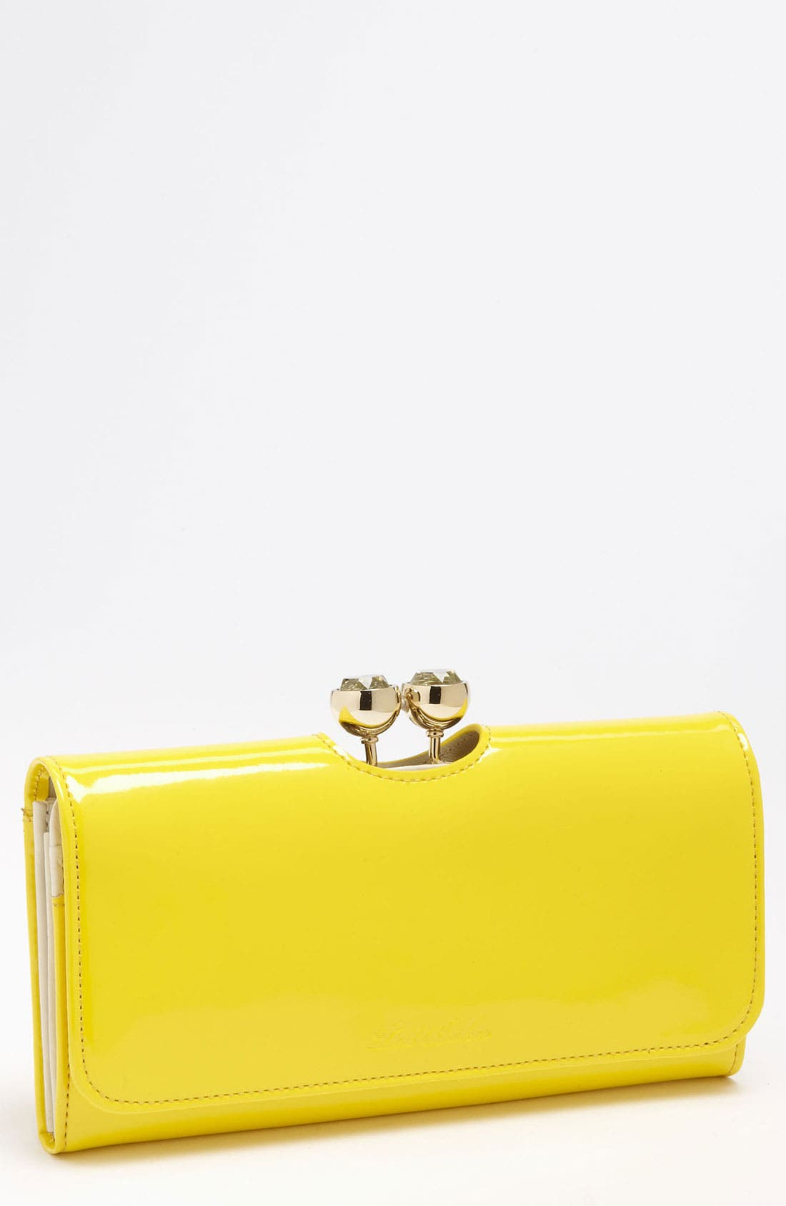 Main Image - Ted Baker London 'Crystal Bobble' Matinee Wallet
