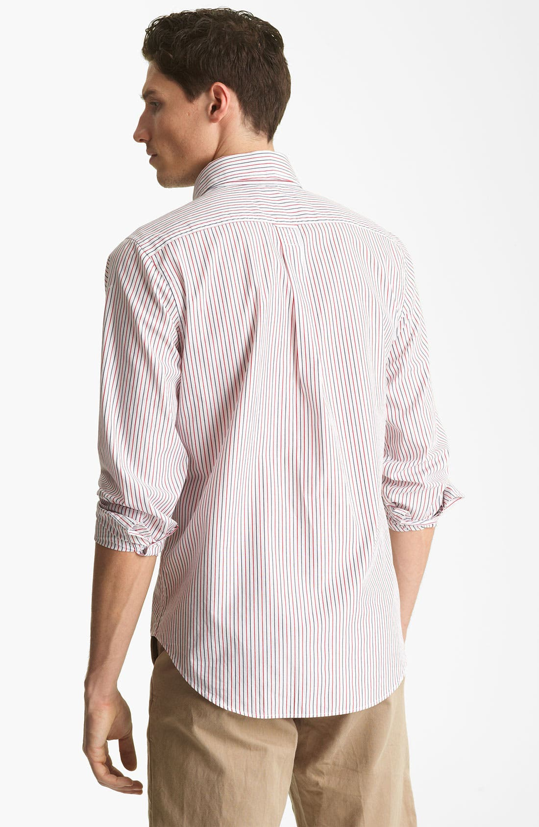 Alternate Image 2  - Jack Spade 'Cale' Stripe Sport Shirt