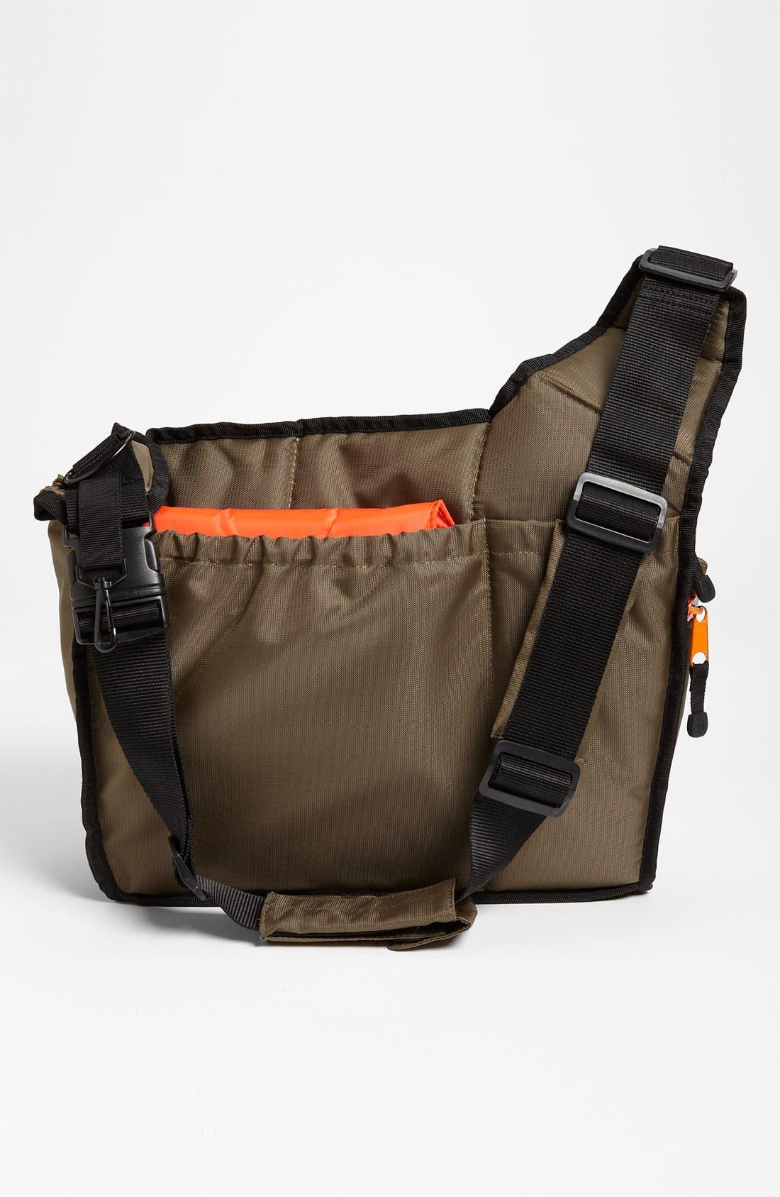 Alternate Image 3  - Diaper Dude Messenger Diaper Bag