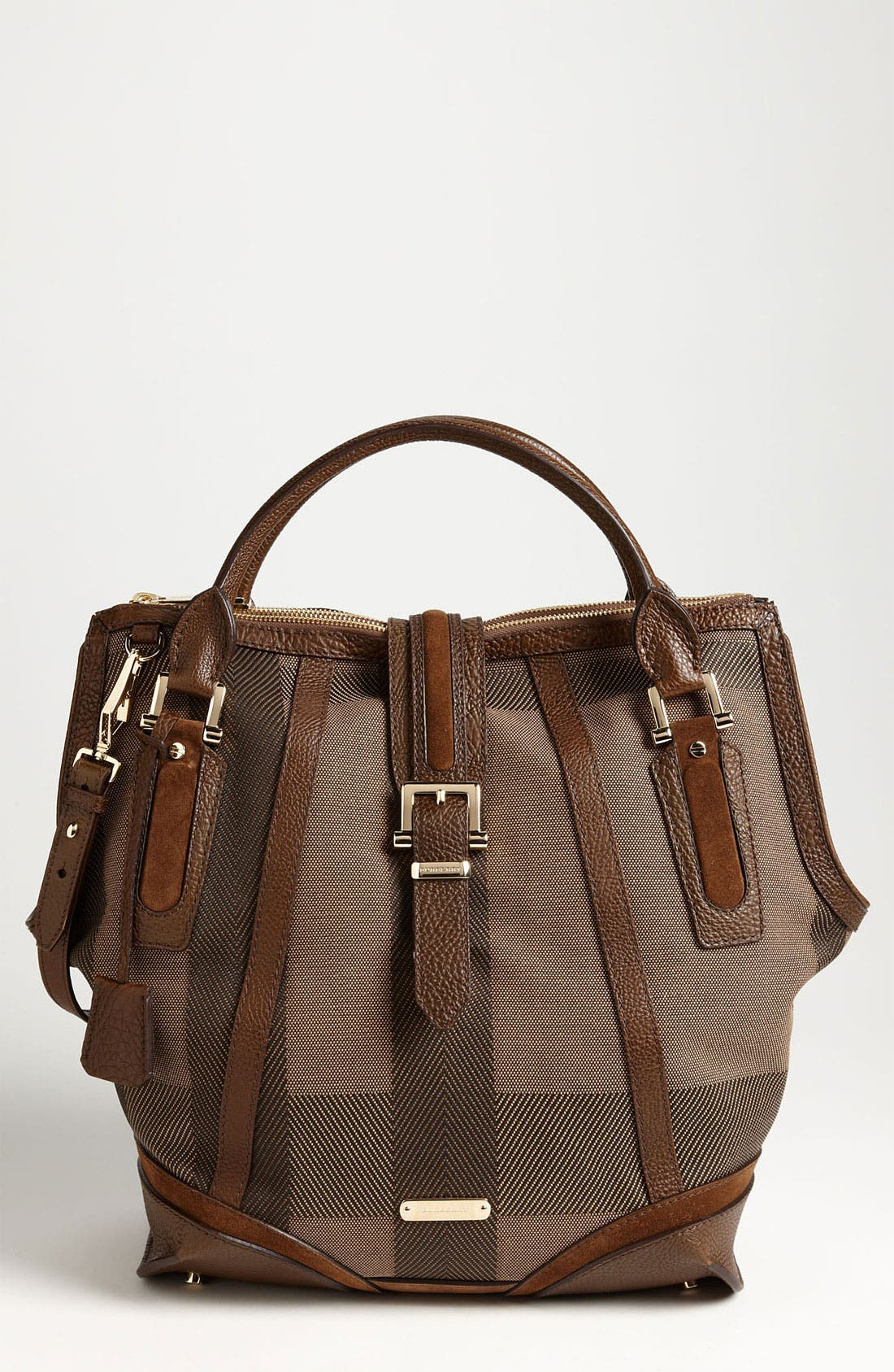 Alternate Image 1 Selected - Burberry Canvas Jacquard Tote