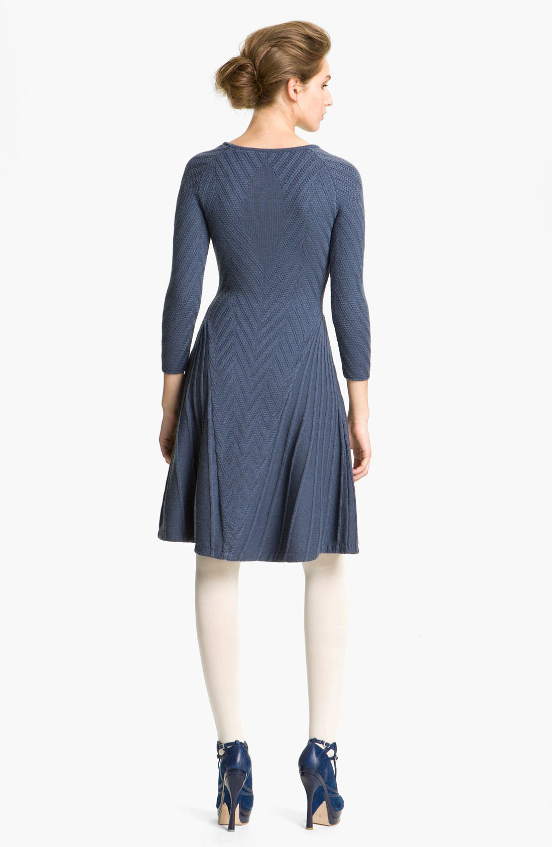 Alternate Image 2  - Cacharel Chevron Knit Dress