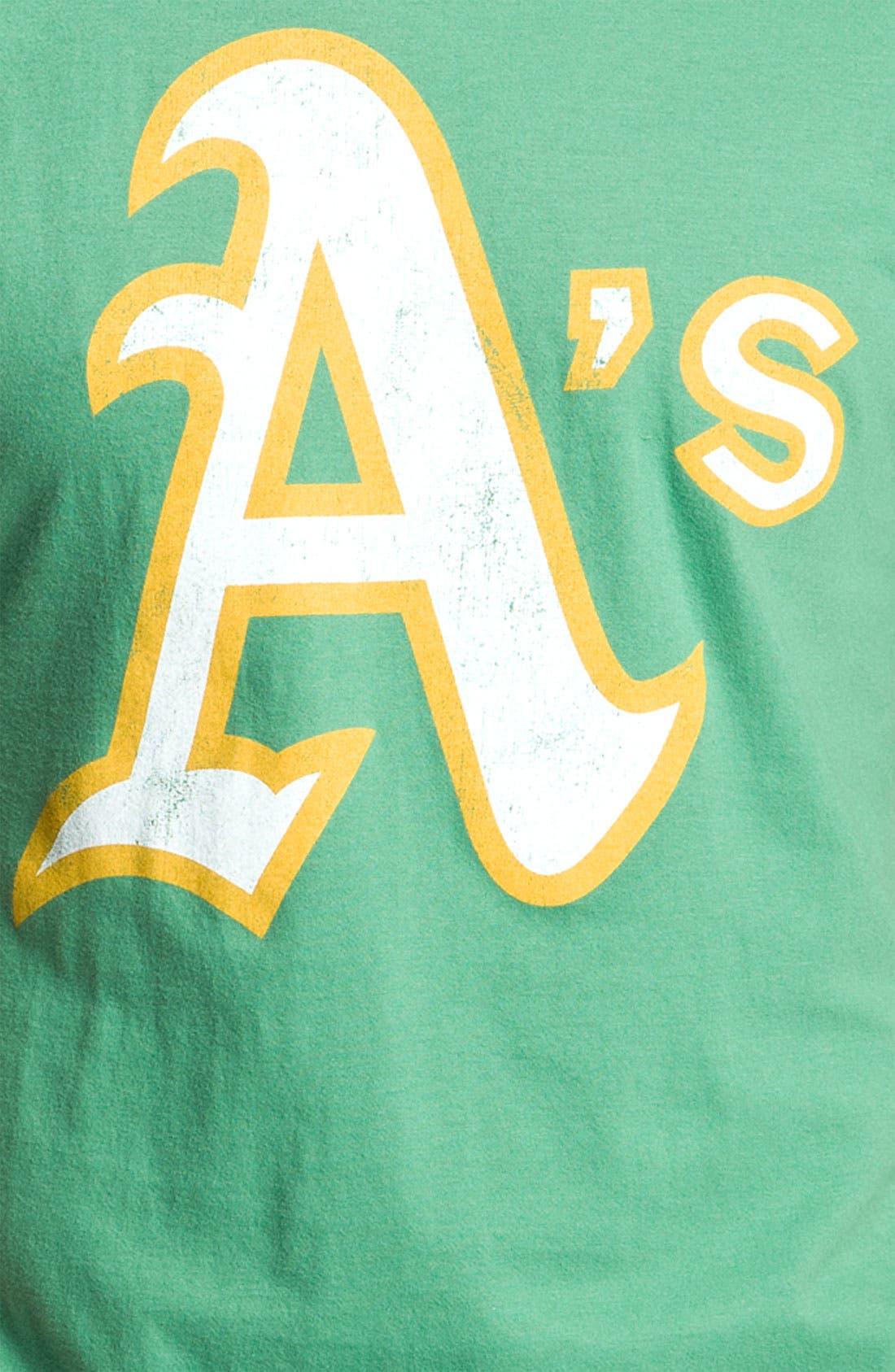 Alternate Image 3  - Wright & Ditson 'Oakland Athletics' Graphic T-Shirt