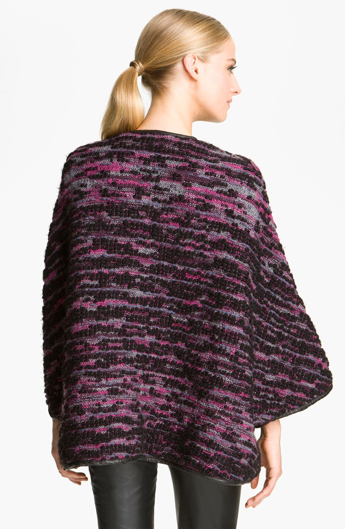 Alternate Image 2  - M Missoni Mélange Bouclé Sweater Coat