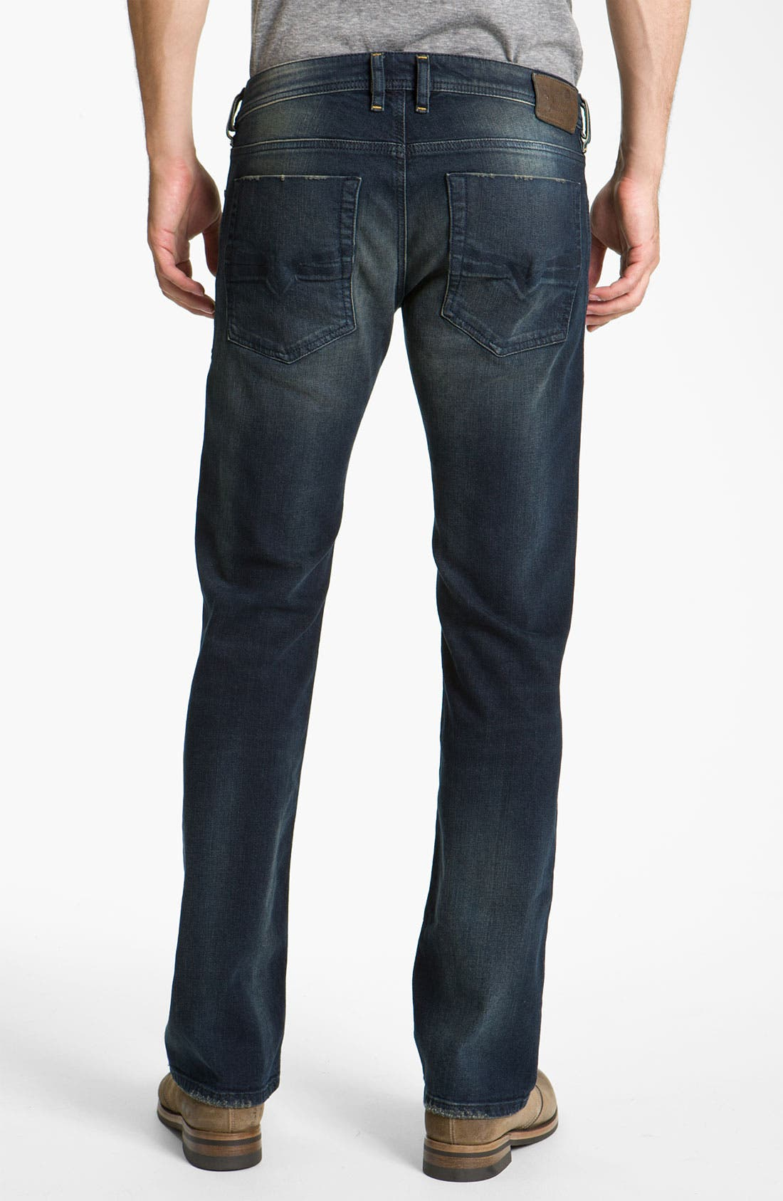 Alternate Image 1 Selected - DIESEL® 'Zatiny' Bootcut Jeans (802C)