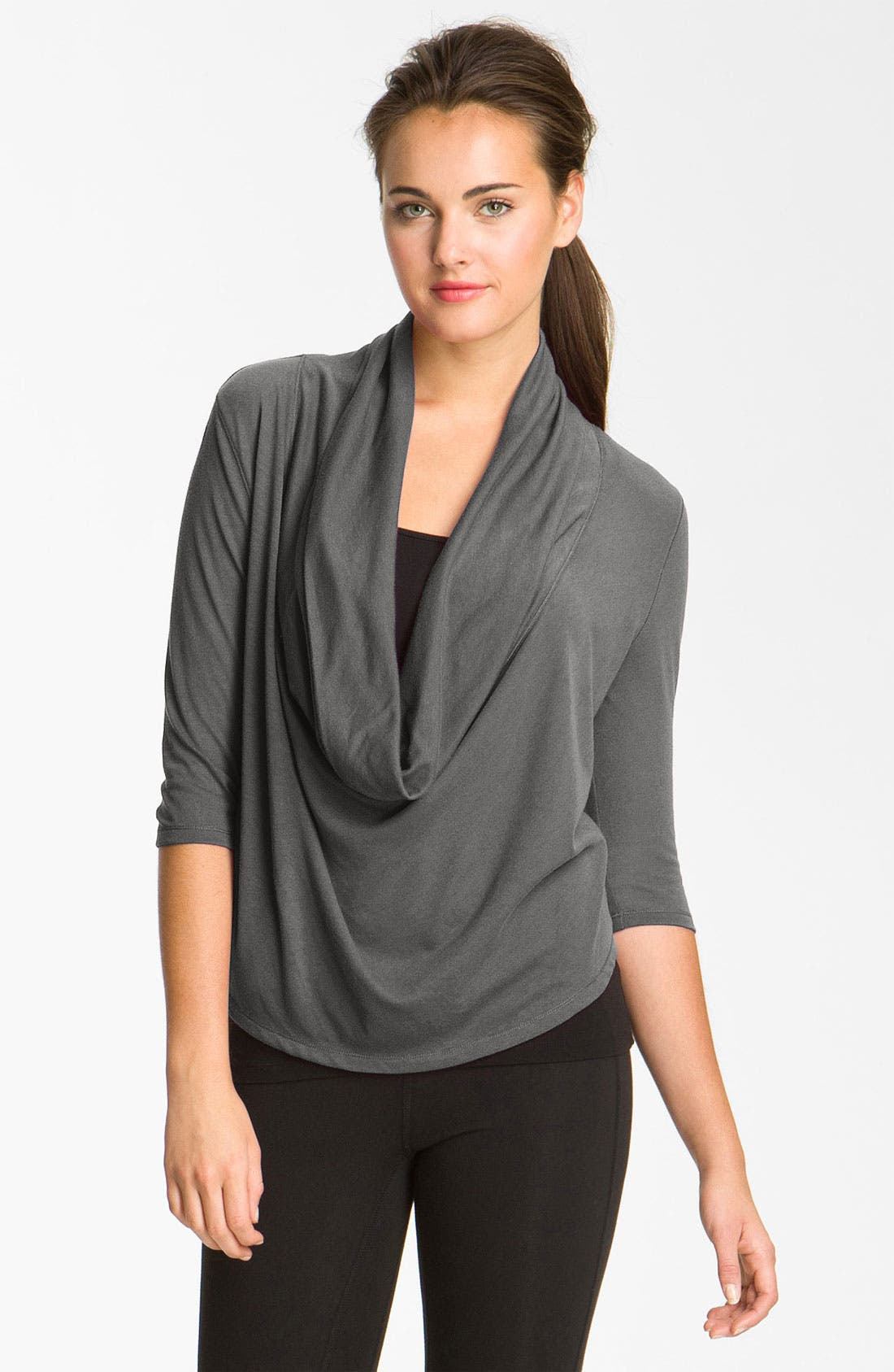 Alternate Image 1 Selected - Alo Draped Top