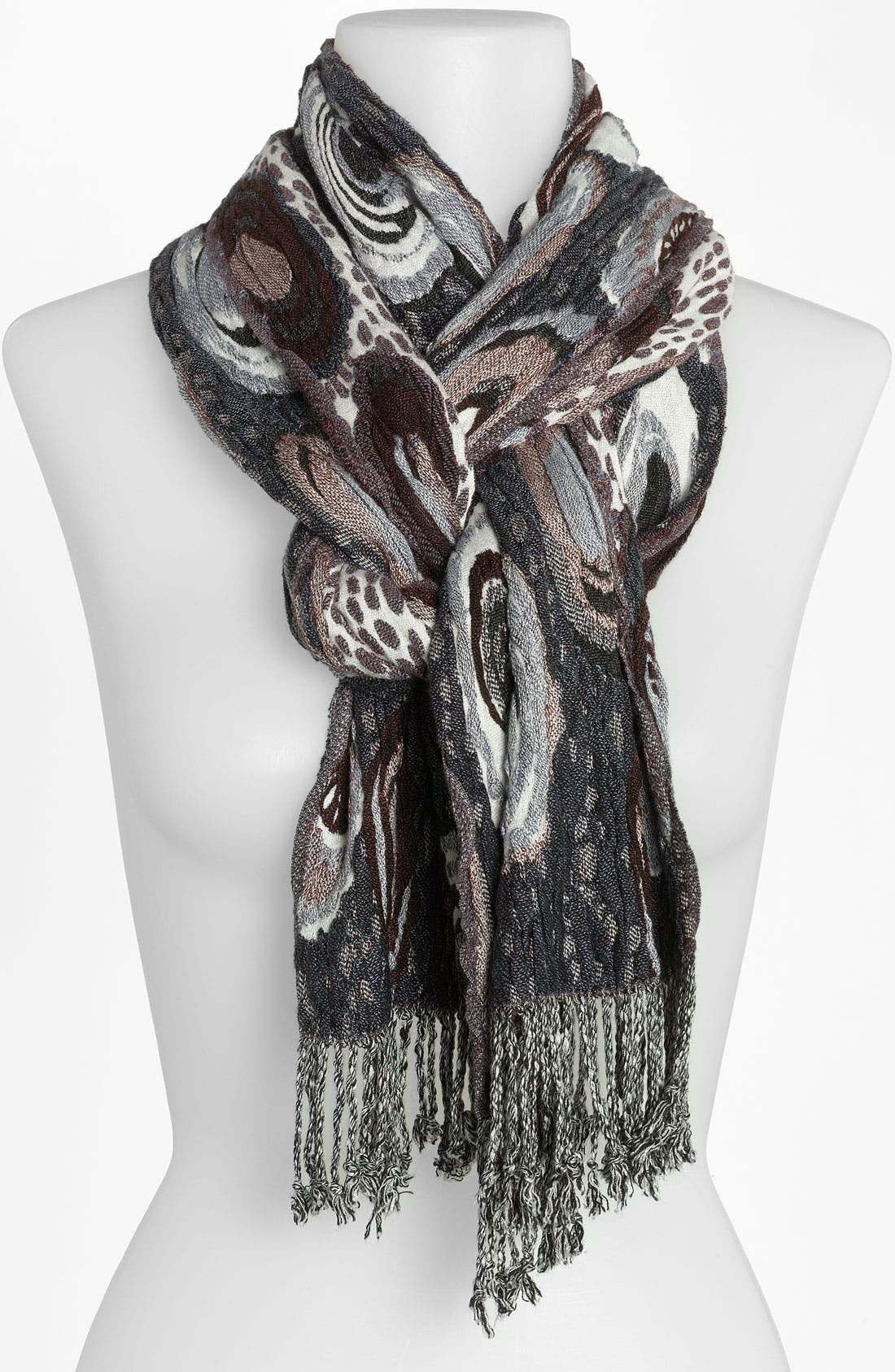 Alternate Image 1 Selected - Chelsey 'Ovals' Scarf