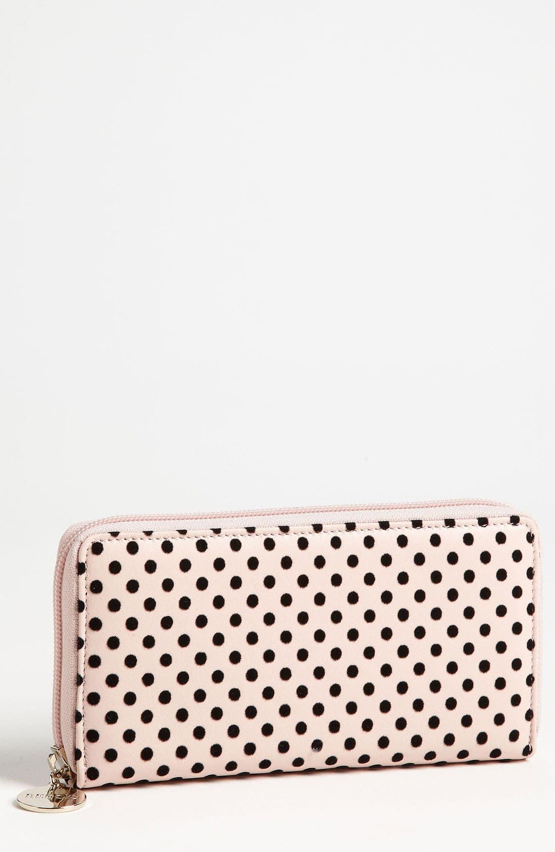 Main Image - RED Valentino 'Dots' Continental Wallet