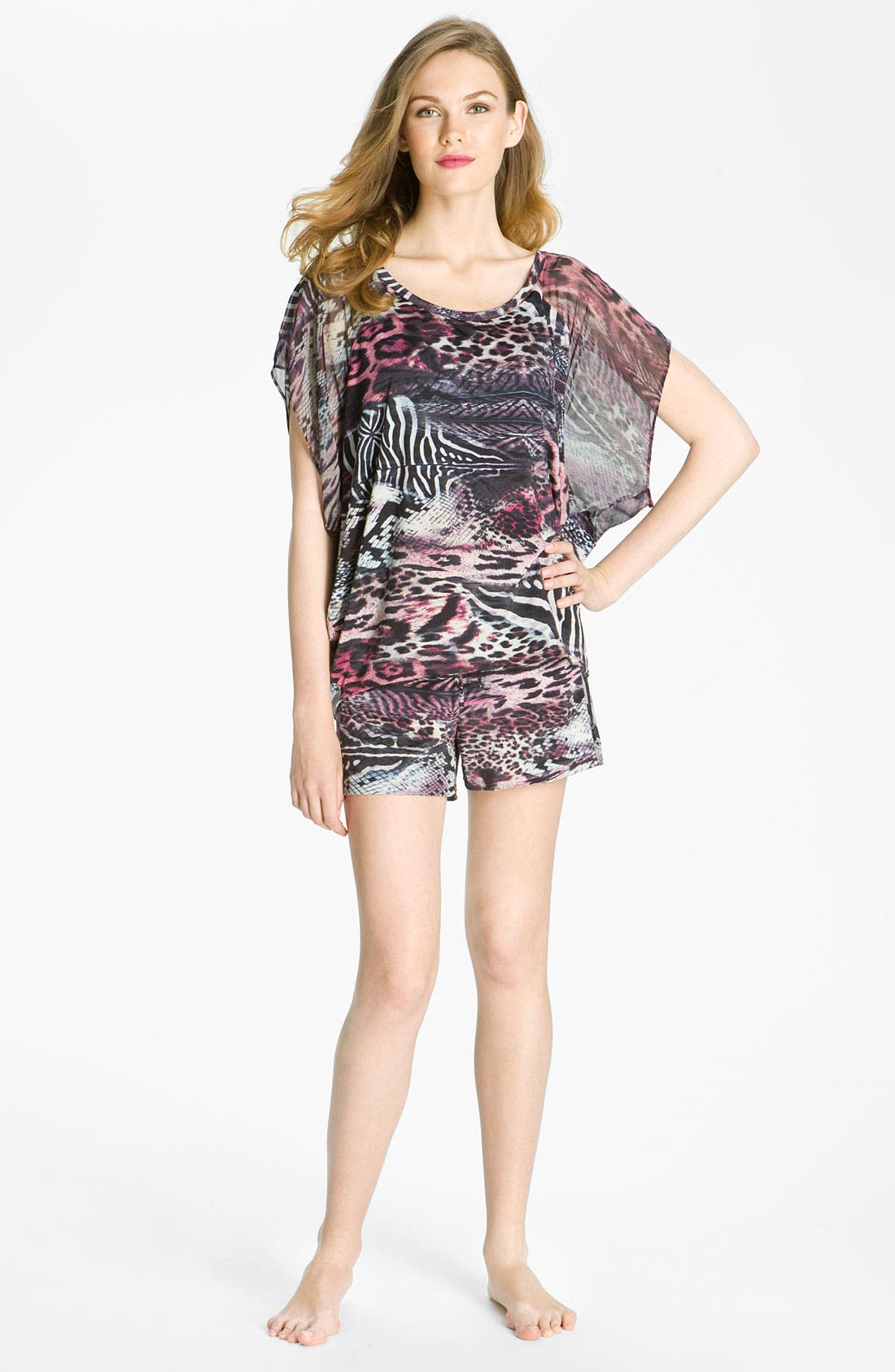 Alternate Image 4  - Nicole Miller 'Wild Animal' Shorts