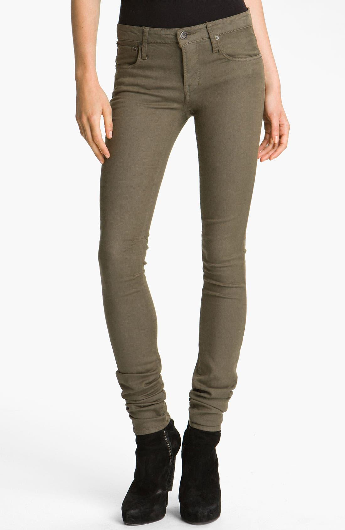 Alternate Image 1 Selected - HELMUT Helmut Lang Overdyed Skinny Pants