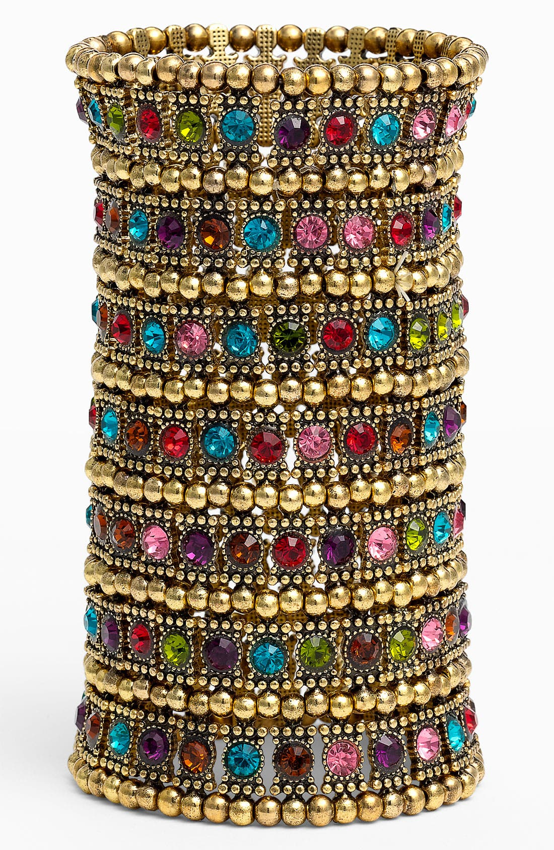 Alternate Image 1 Selected - Natasha Couture Tribal Inspired Stretch Cuff