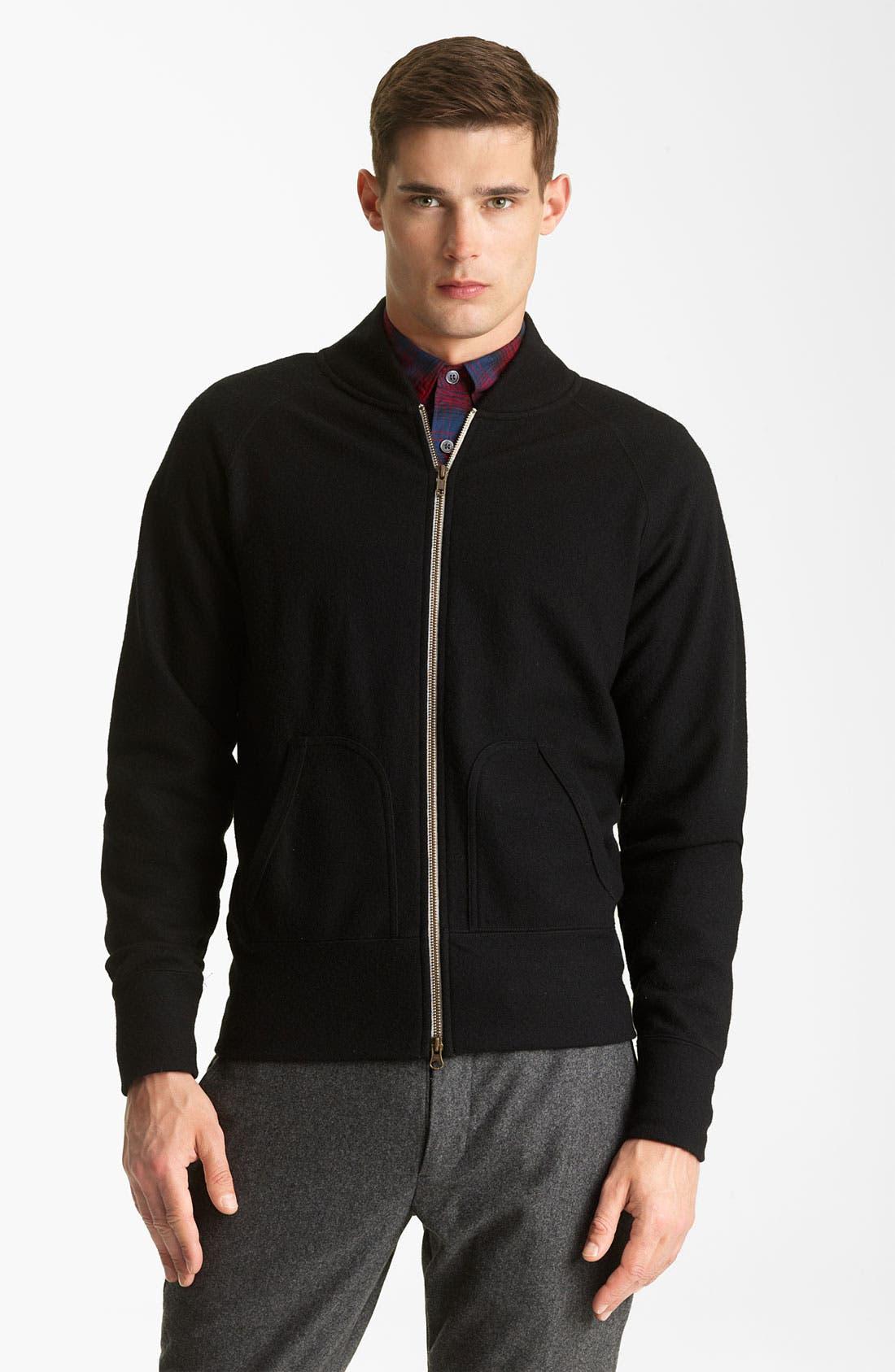 Alternate Image 1 Selected - Todd Snyder Wool Track Jacket