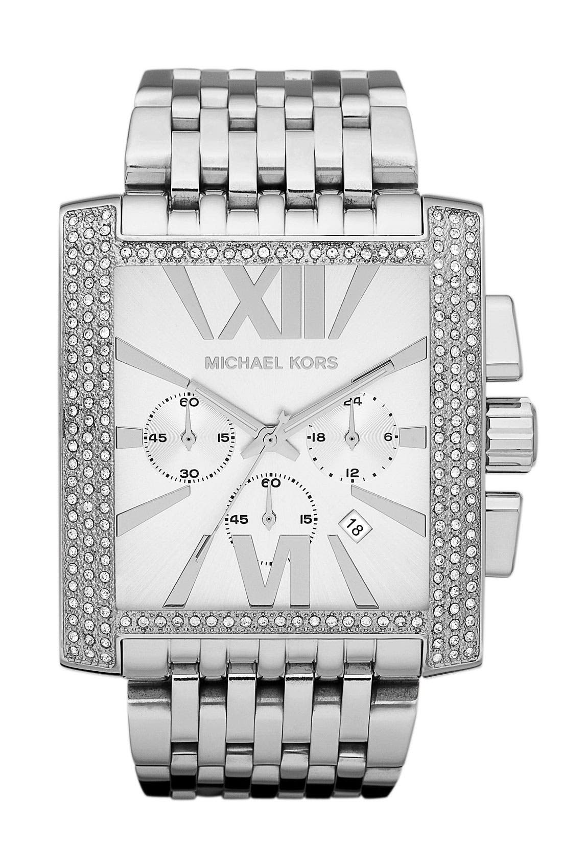 Main Image - Michael Kors 'Gia' Chronograph Bracelet Watch